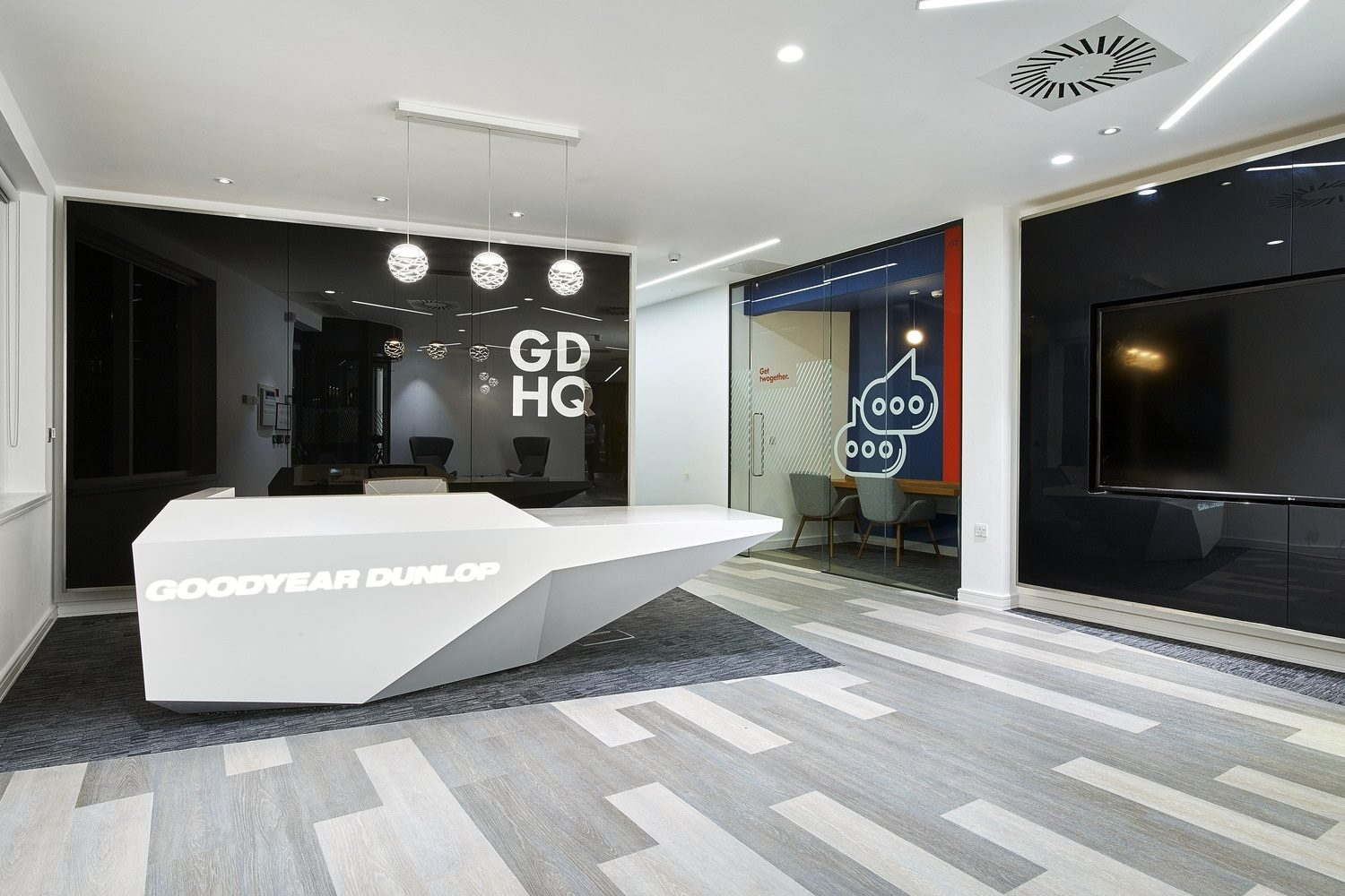 Goodyear Dunlop office design and build