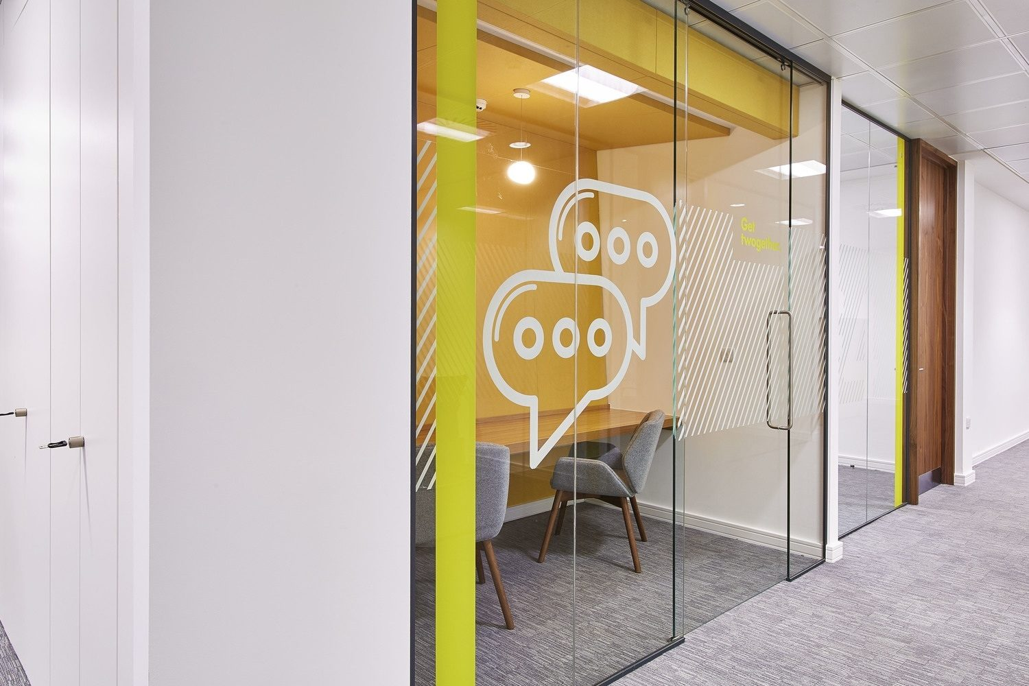 Goodyear glass meeting room fit out