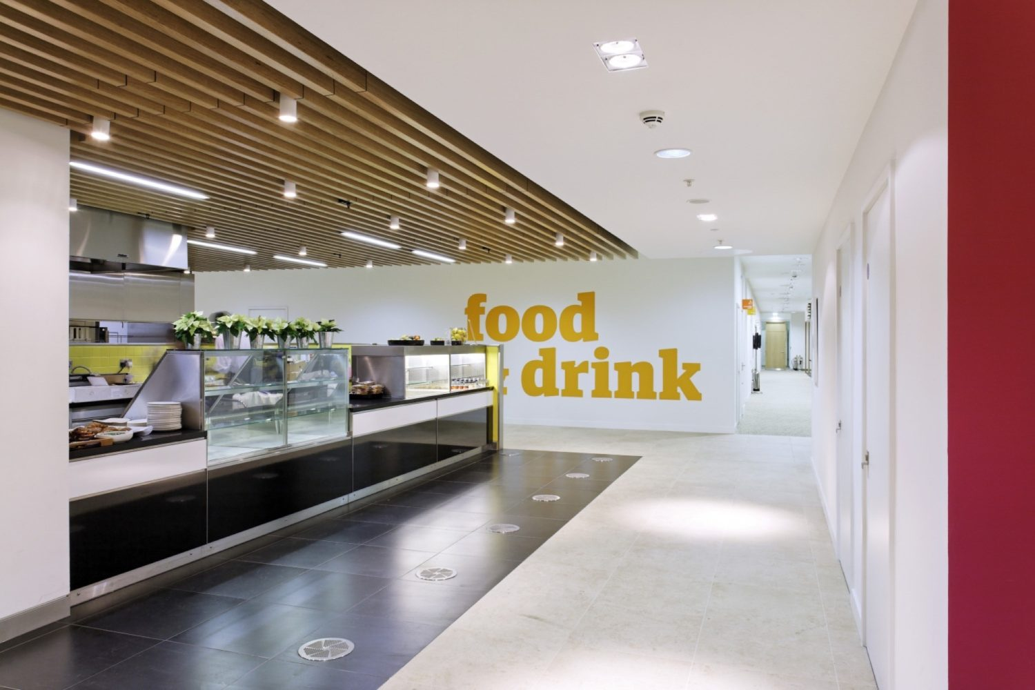 Guardian staff restaurant fit out
