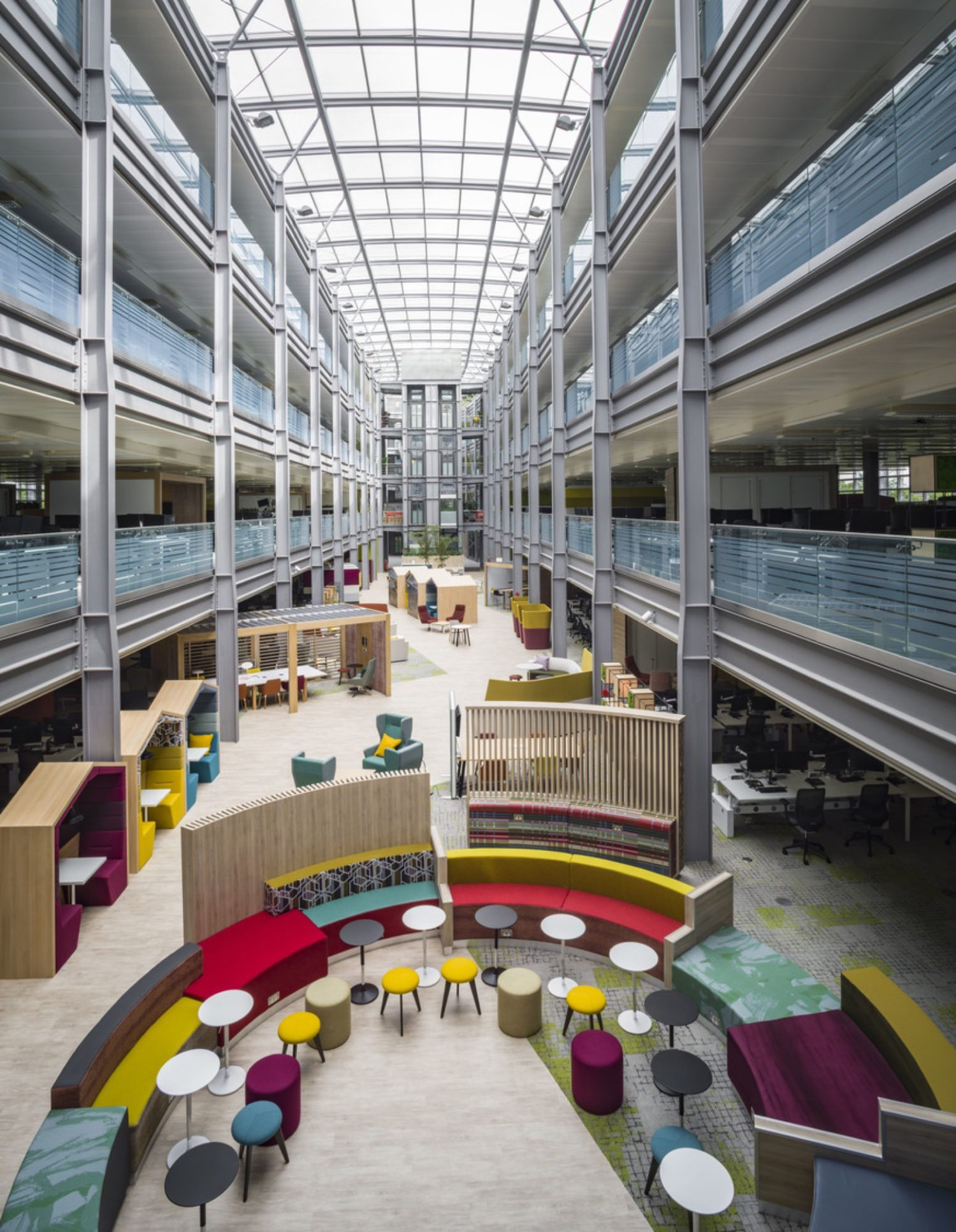 HMRC Benton Atrium in office fit out