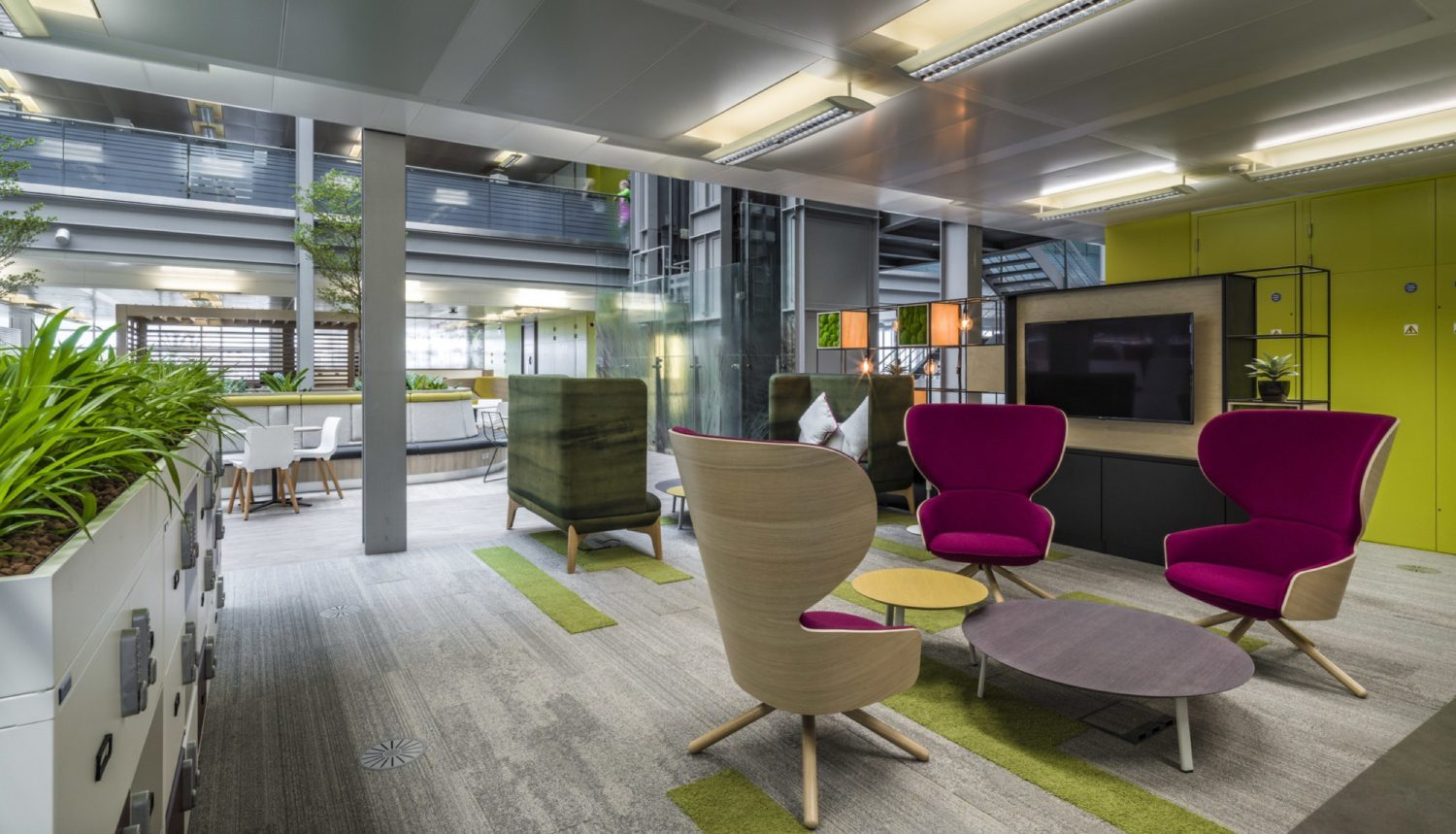 HMRC breakout area fit out