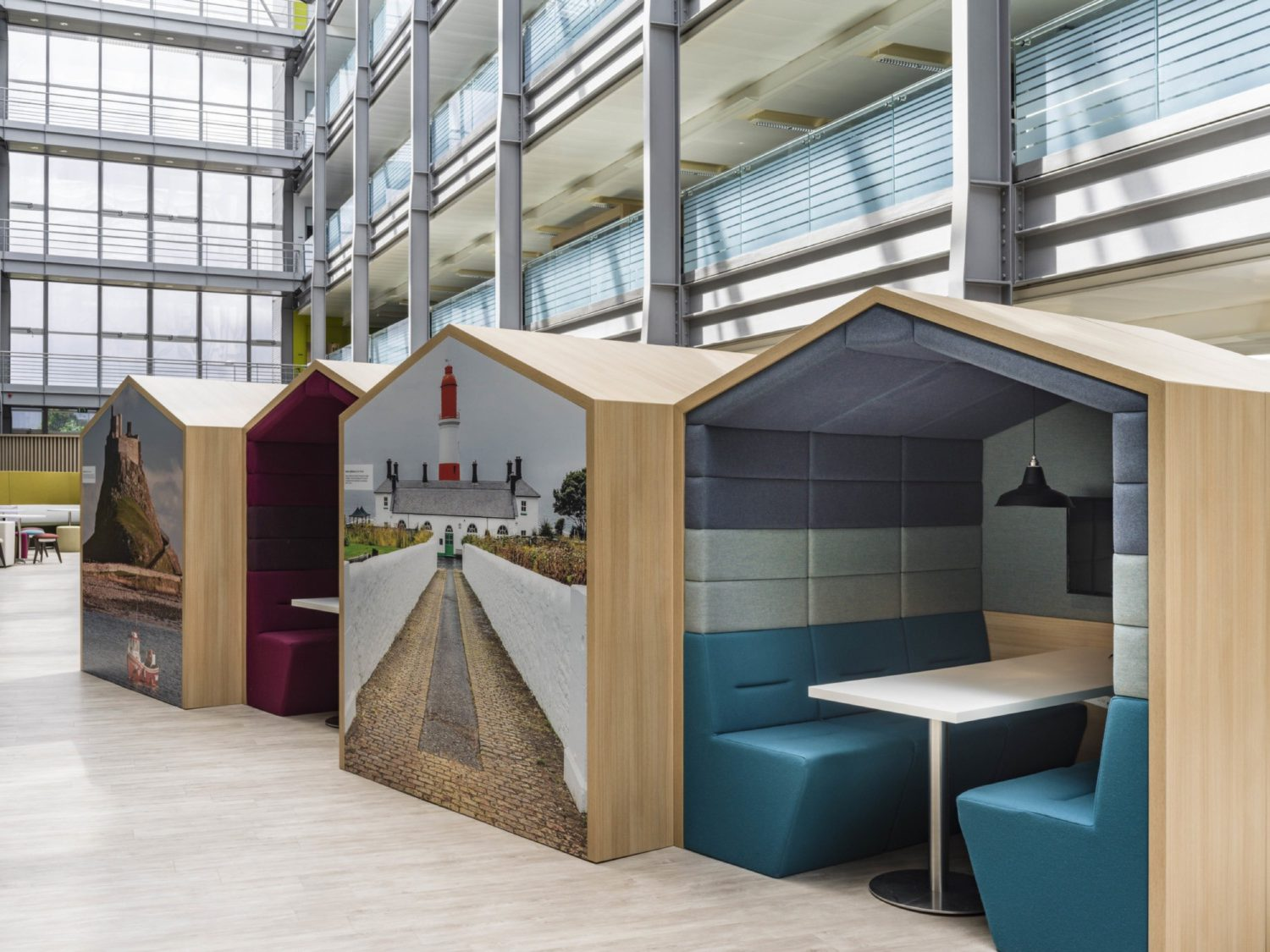 HMRC work pods
