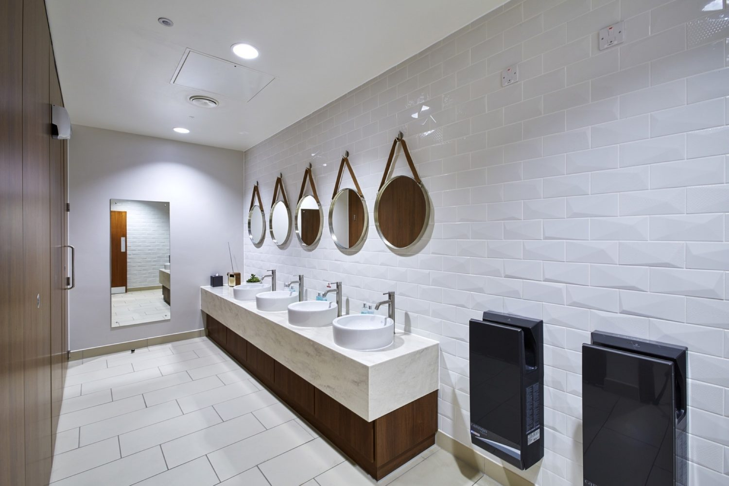 InterContenental office toilets fit out