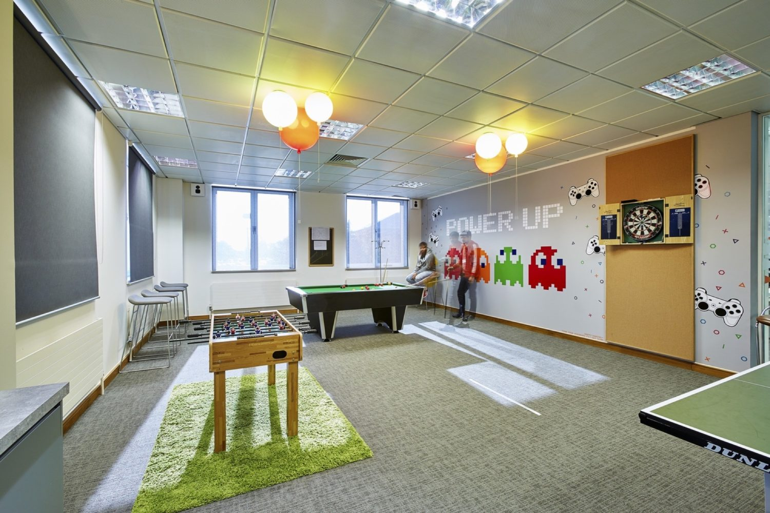 IHG games room in office fit out