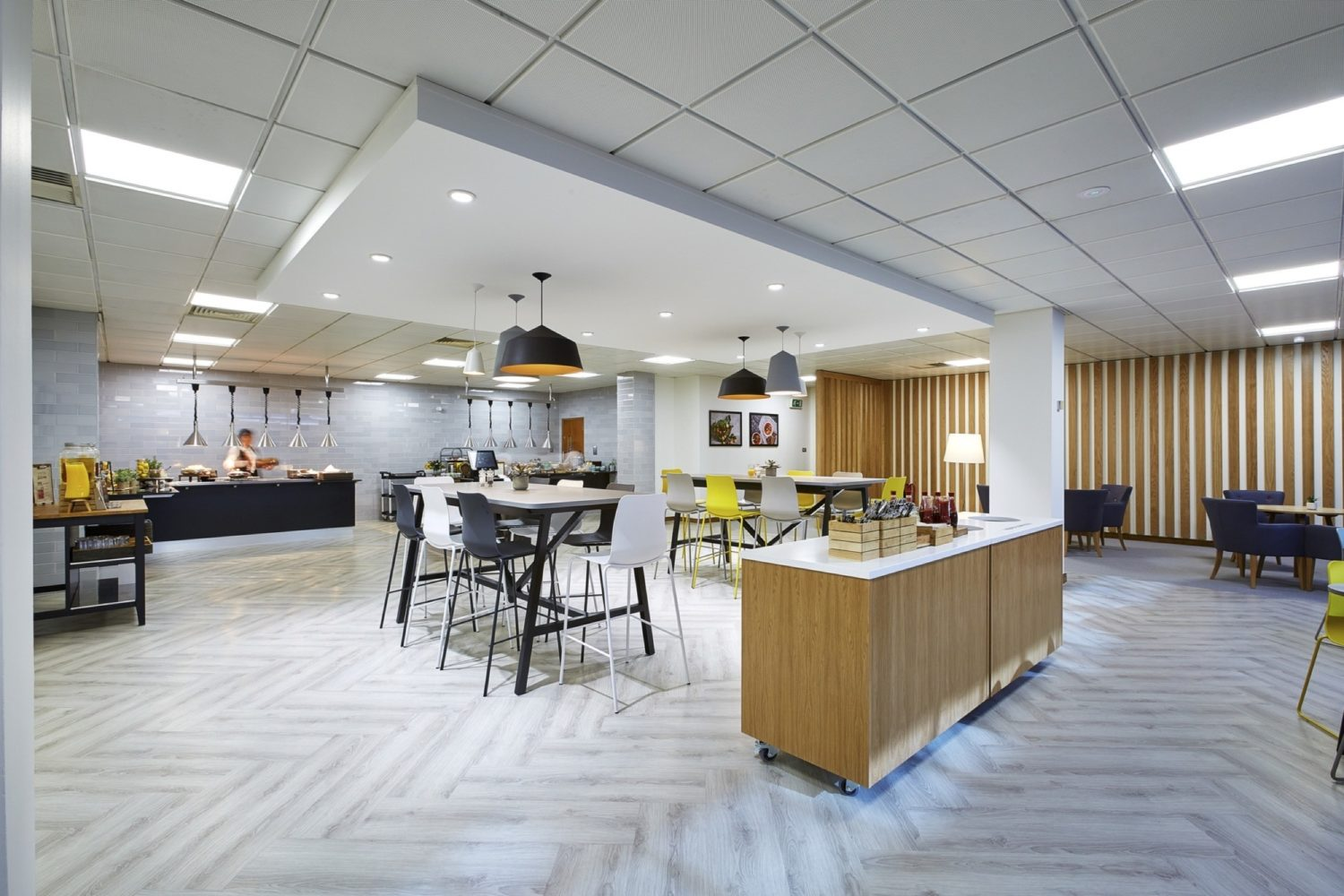 IHG staff cafeteria fit out