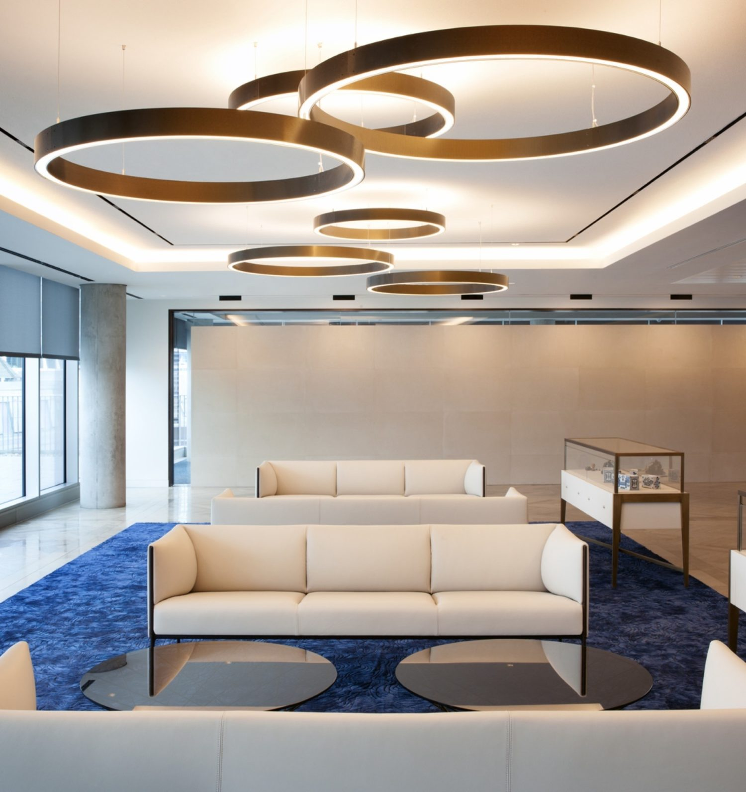 ING London reception fit out