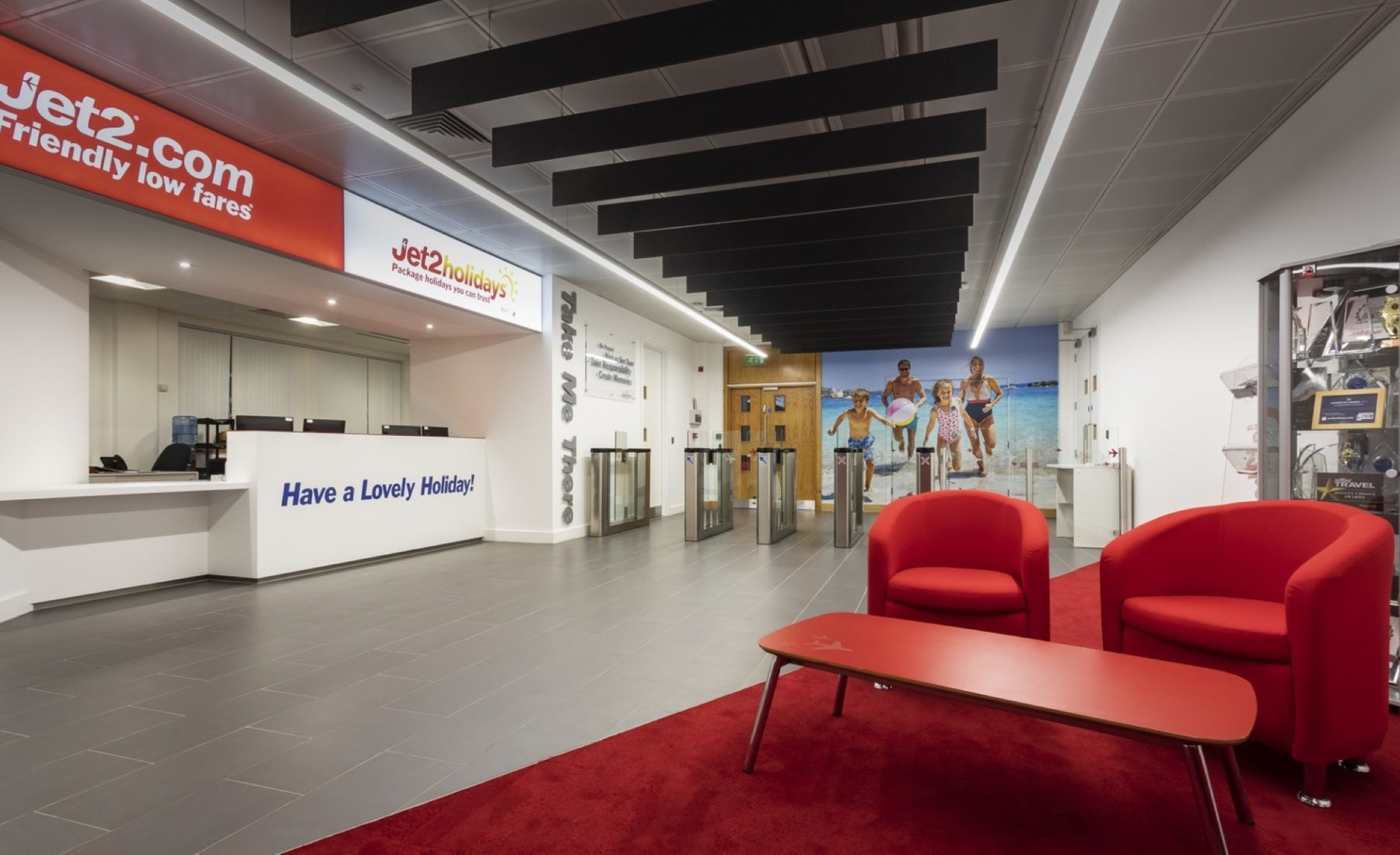 Jet2 commercial fit out