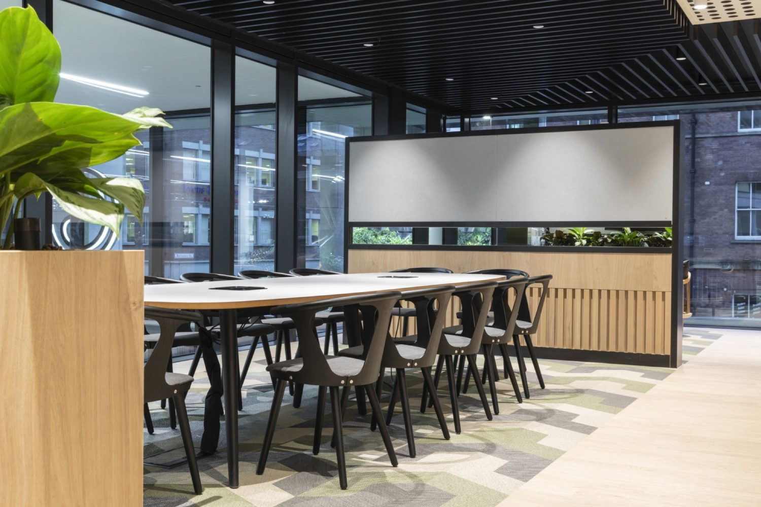 Link activity based office fit out