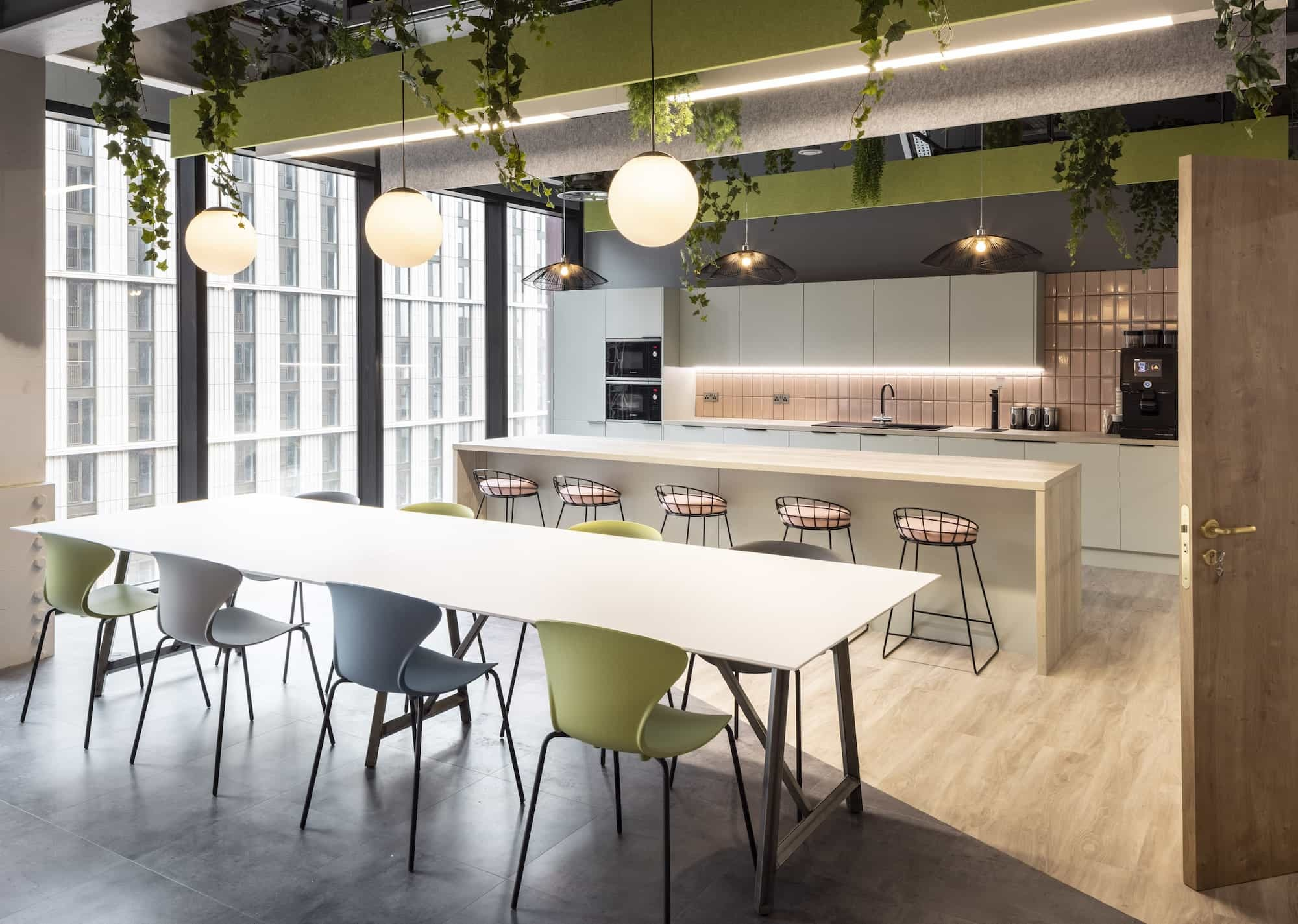 Mills Reeve office kitchen design and fit out