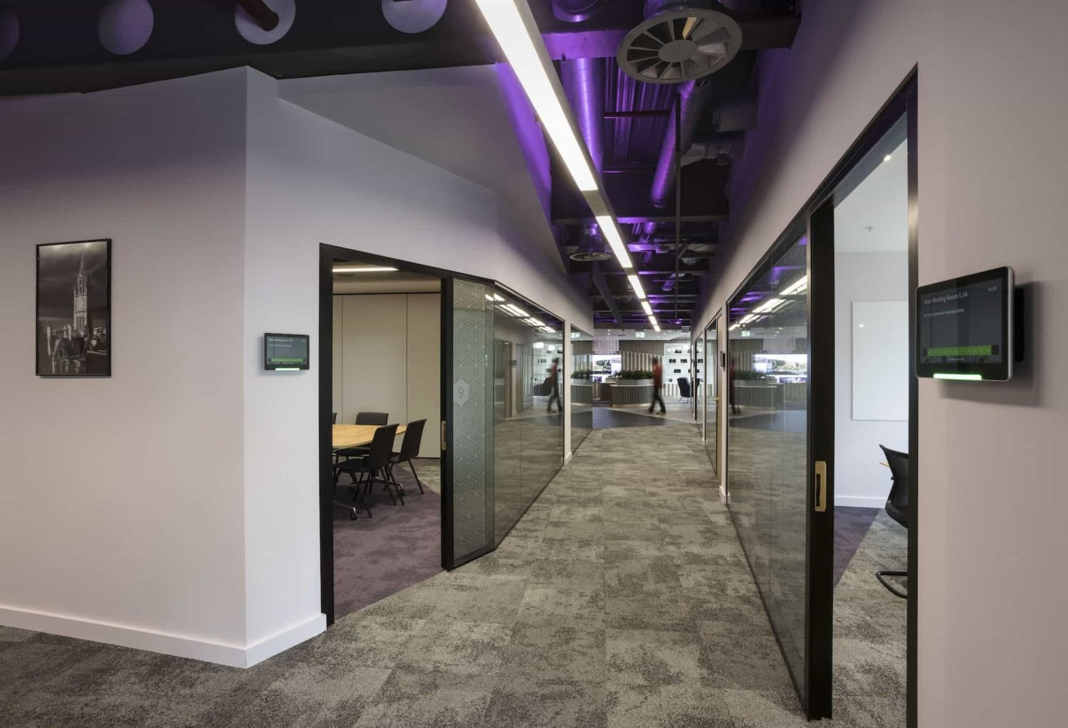 Mills Reeve meeting room fit out