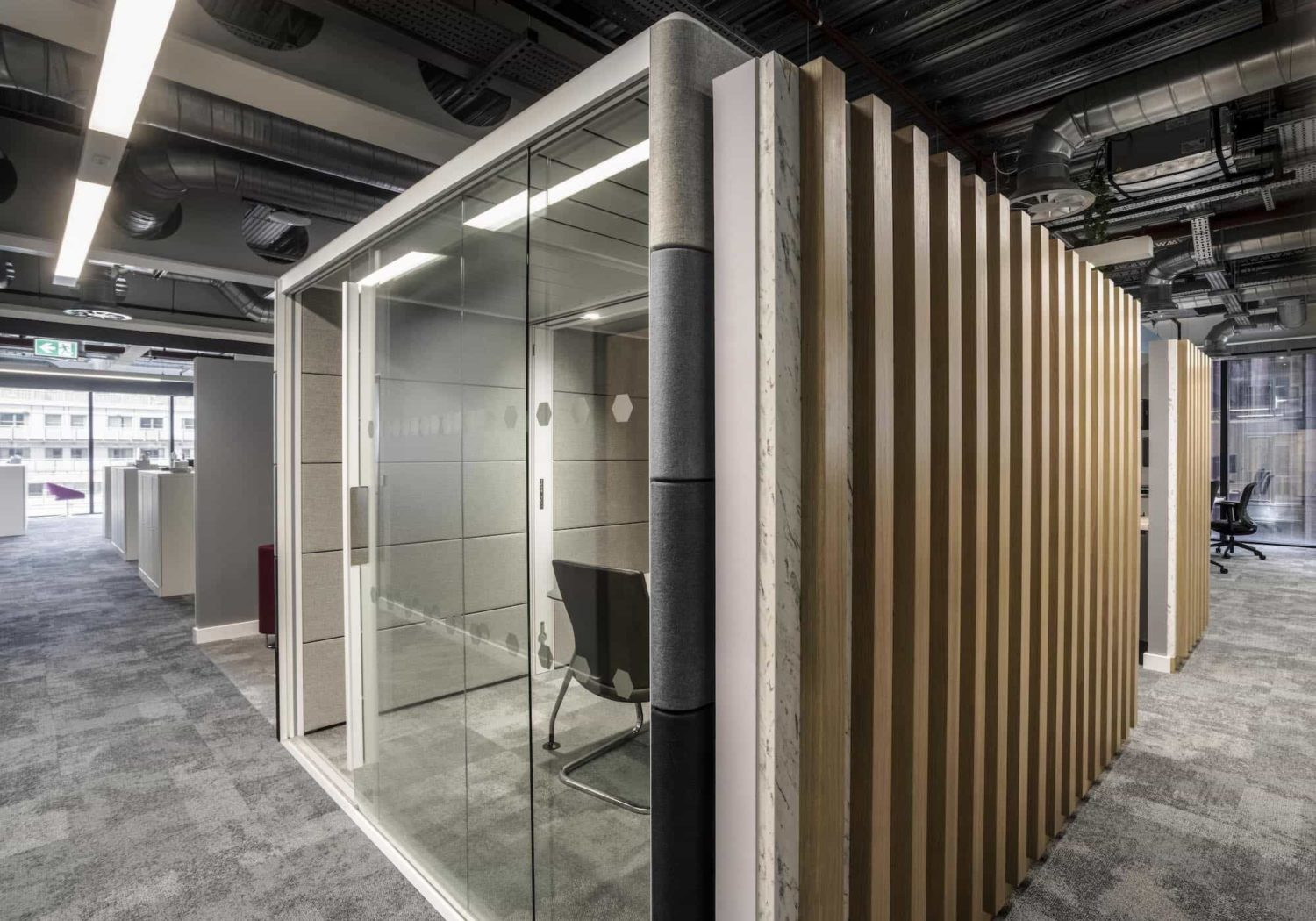 Mills Reeve office booths