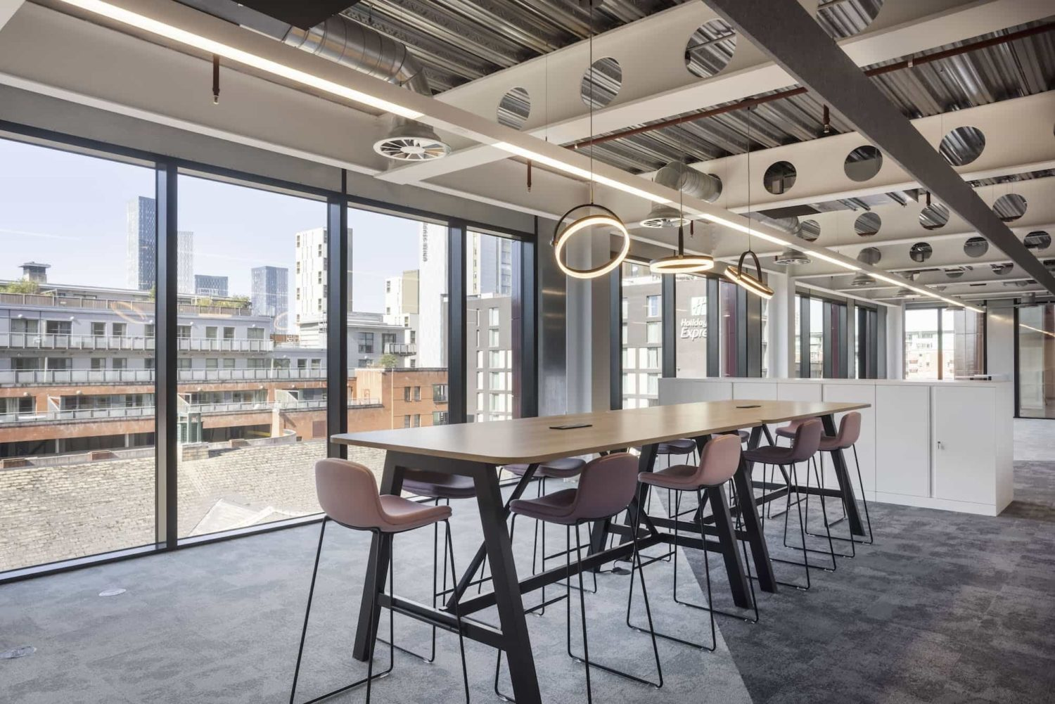 Mills Reeve office breakout space fit out