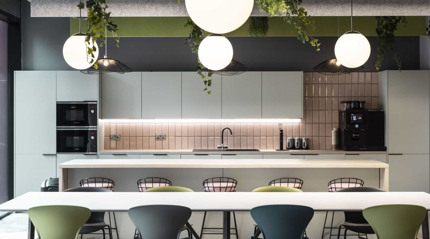 Mills Reeve office kitchen fit out