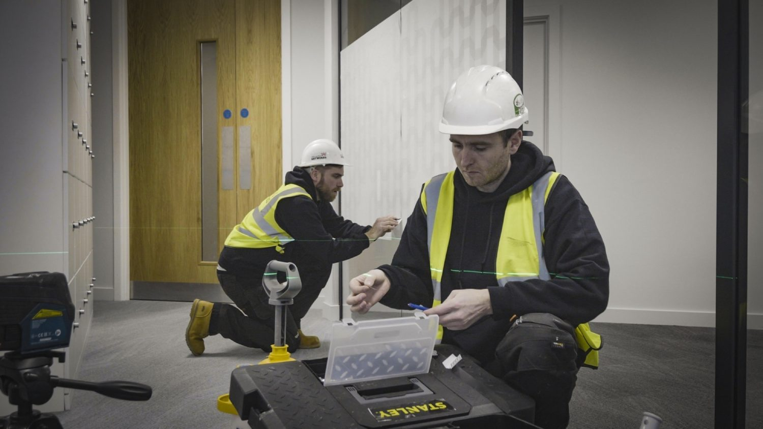 Odeon Overbury sustainable office fit out