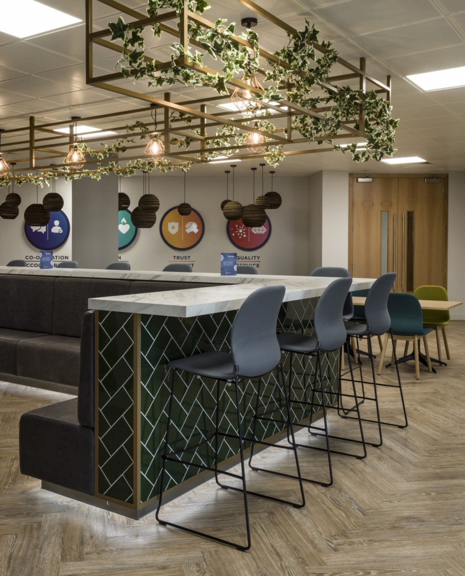 Odeon breakout space fit out