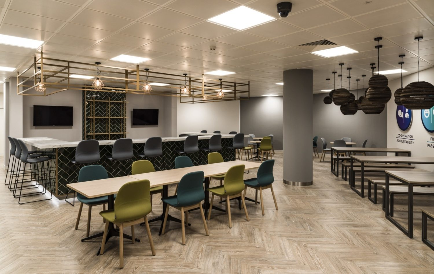 Odeon flexible workspace fit out