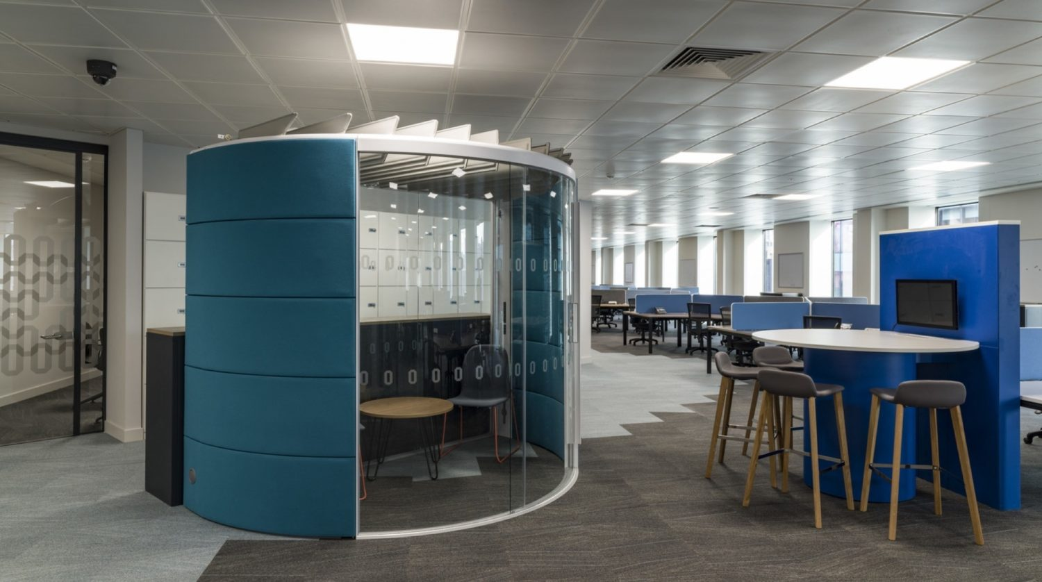 Odeon office pod fit out
