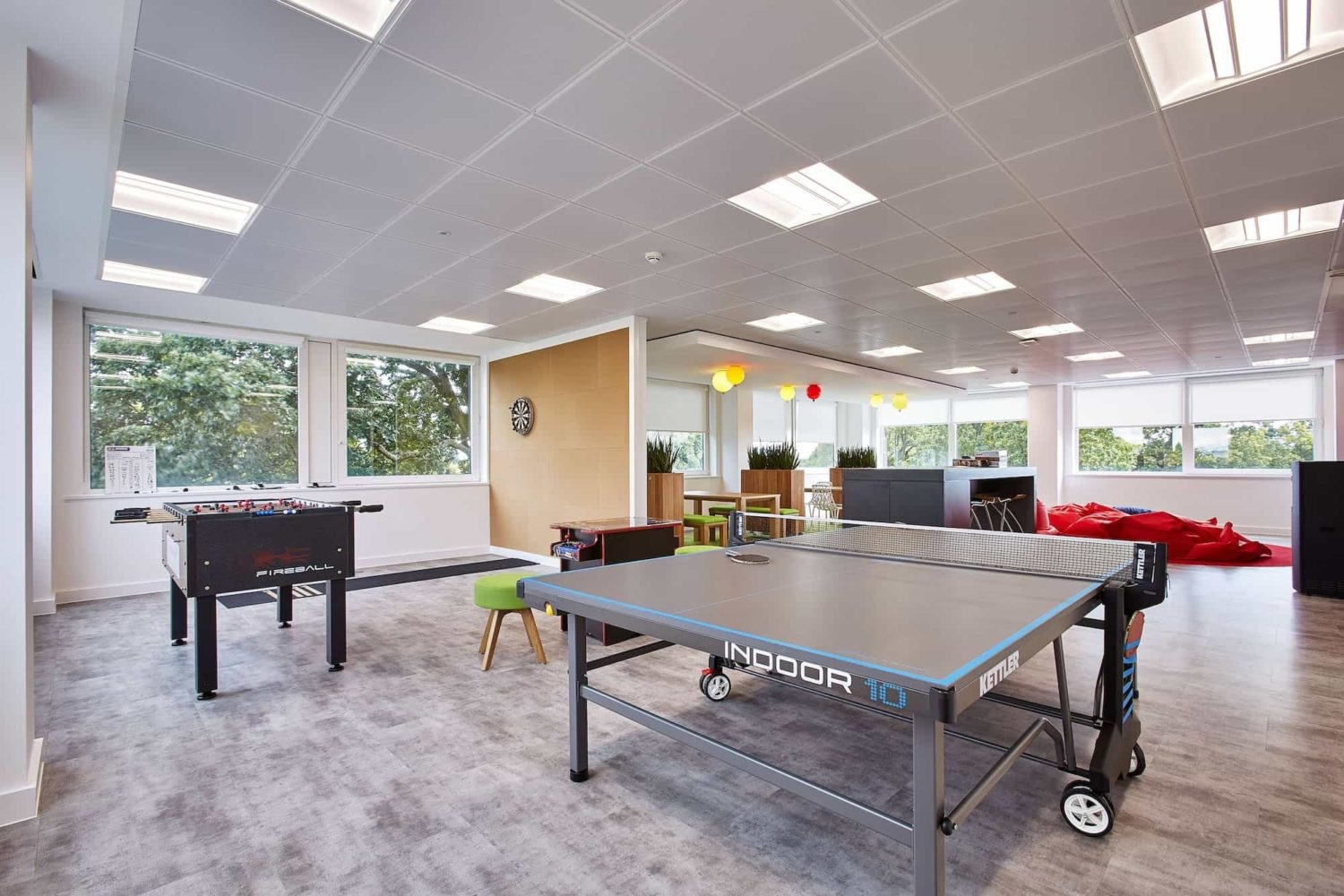 Phoebus table tennis in office fit out
