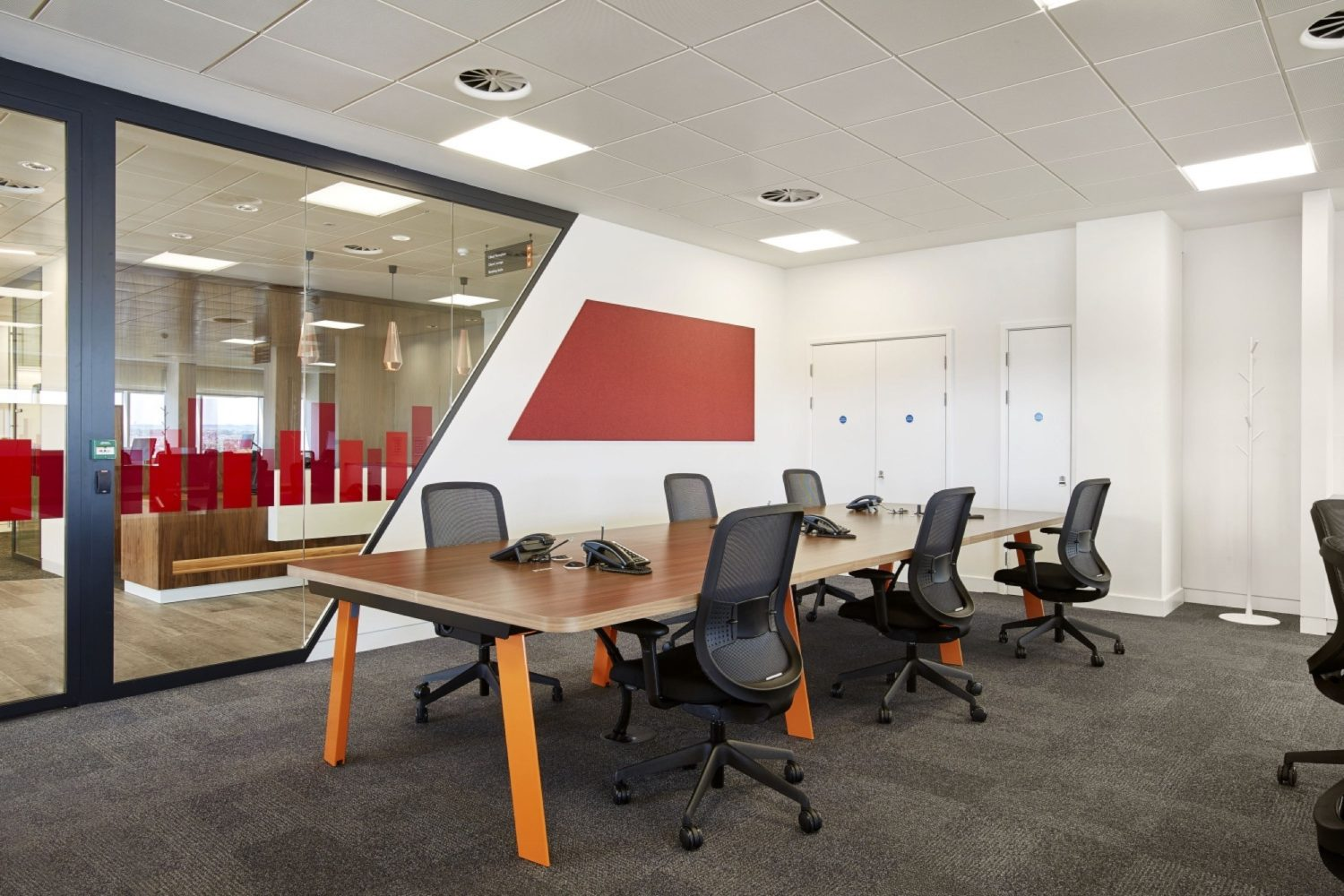 PwC conference room fit out