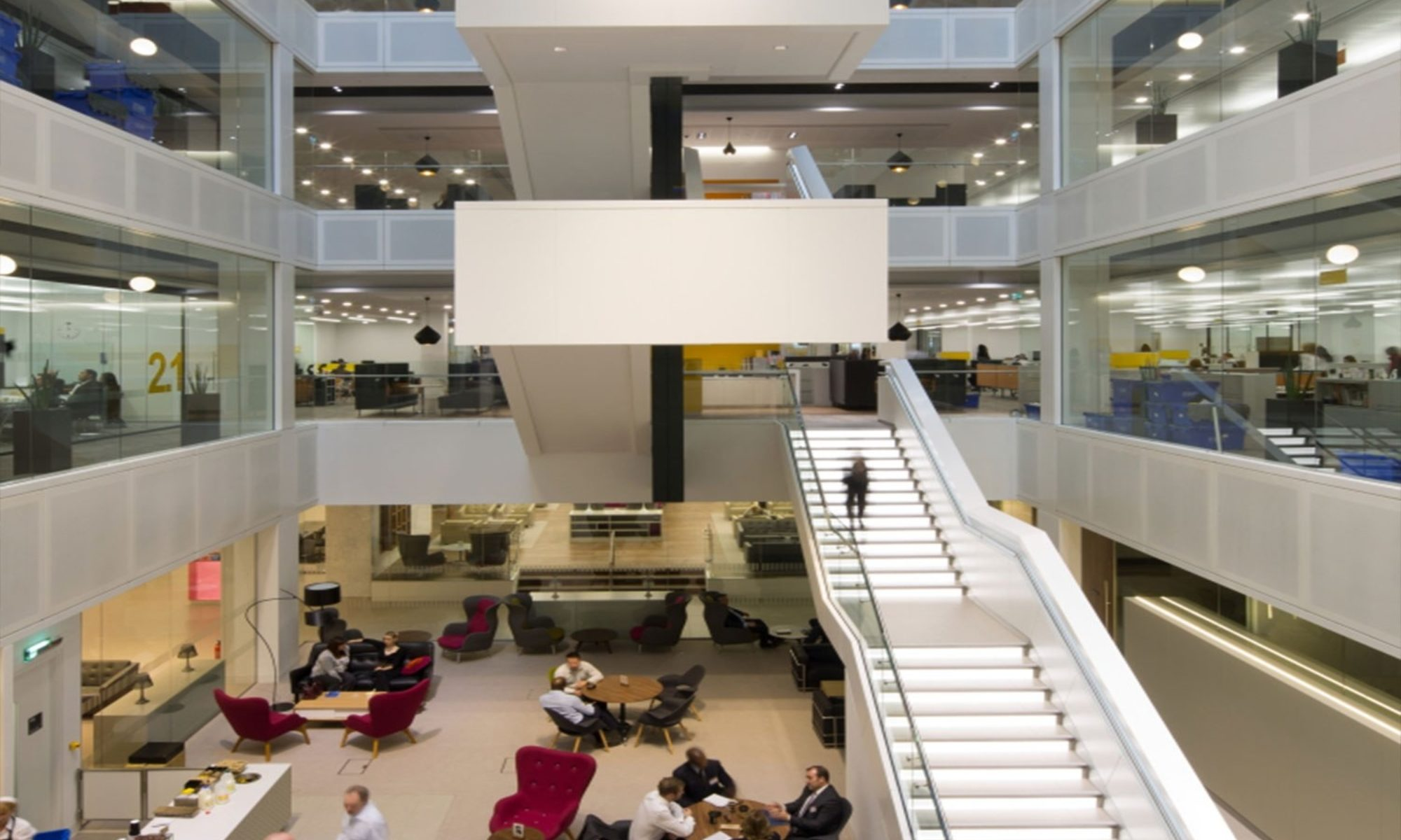 PwC-office atrium fit out