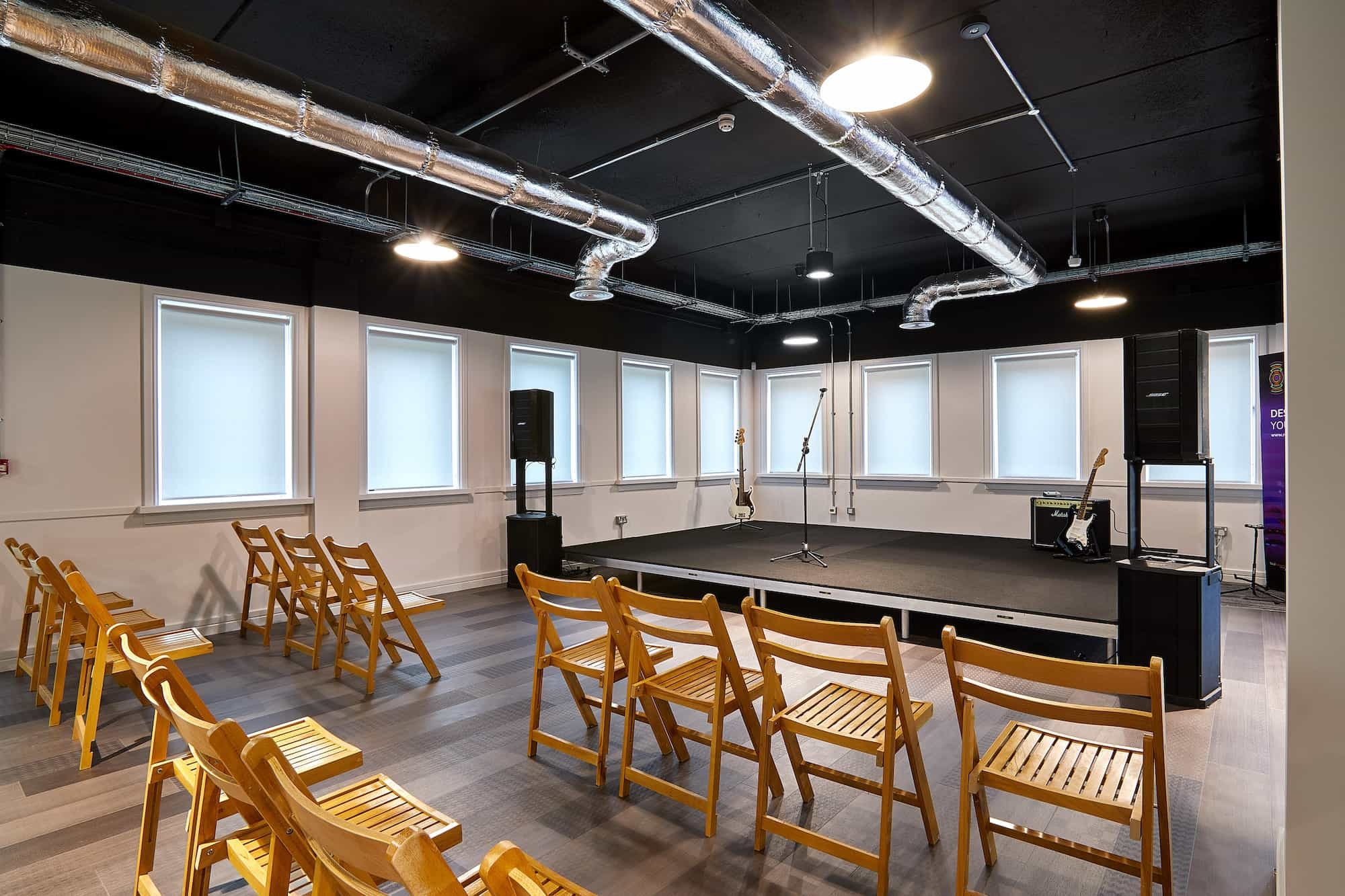 Resonance performance space fit out