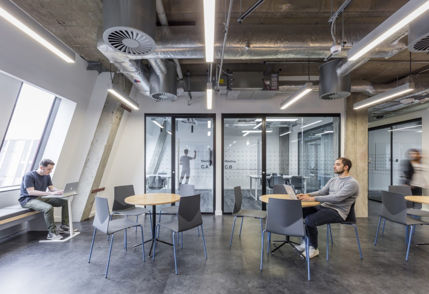 Rocketspace office interior fit out