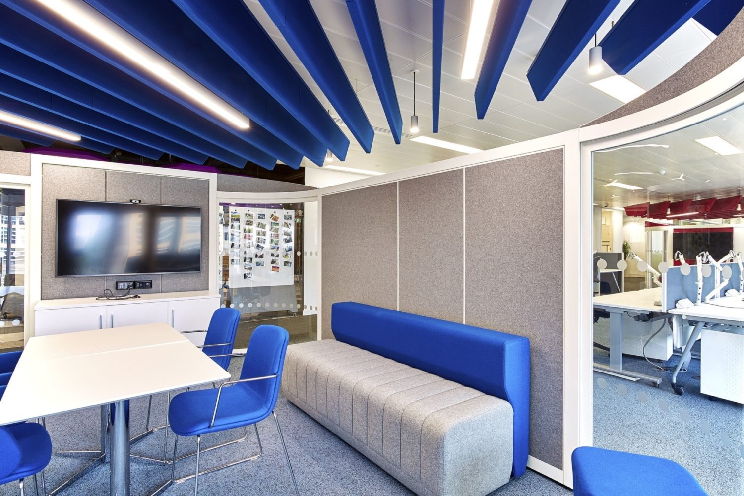Thales meeting room fit out