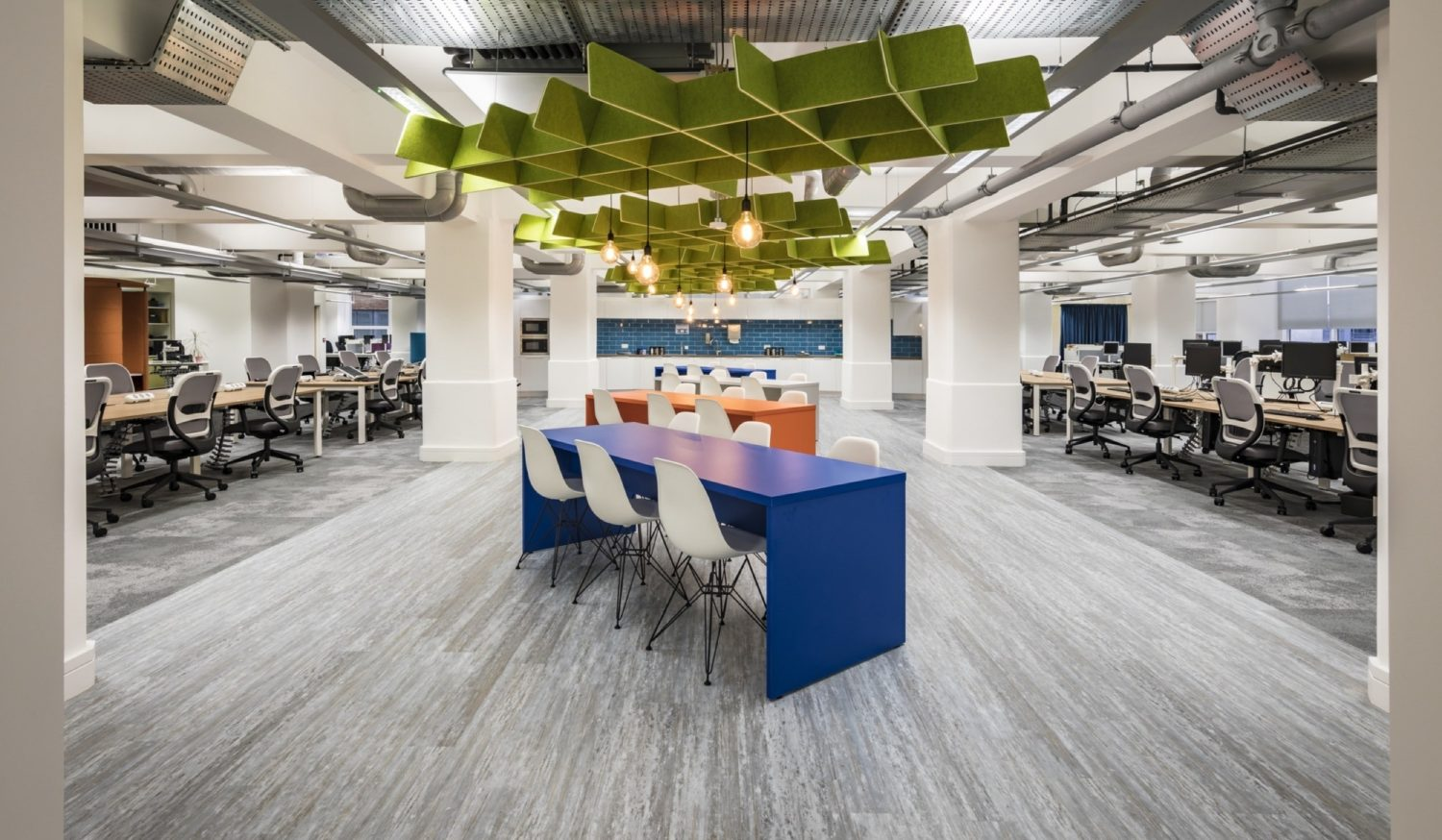 The Growth Company activity based workspace fit out
