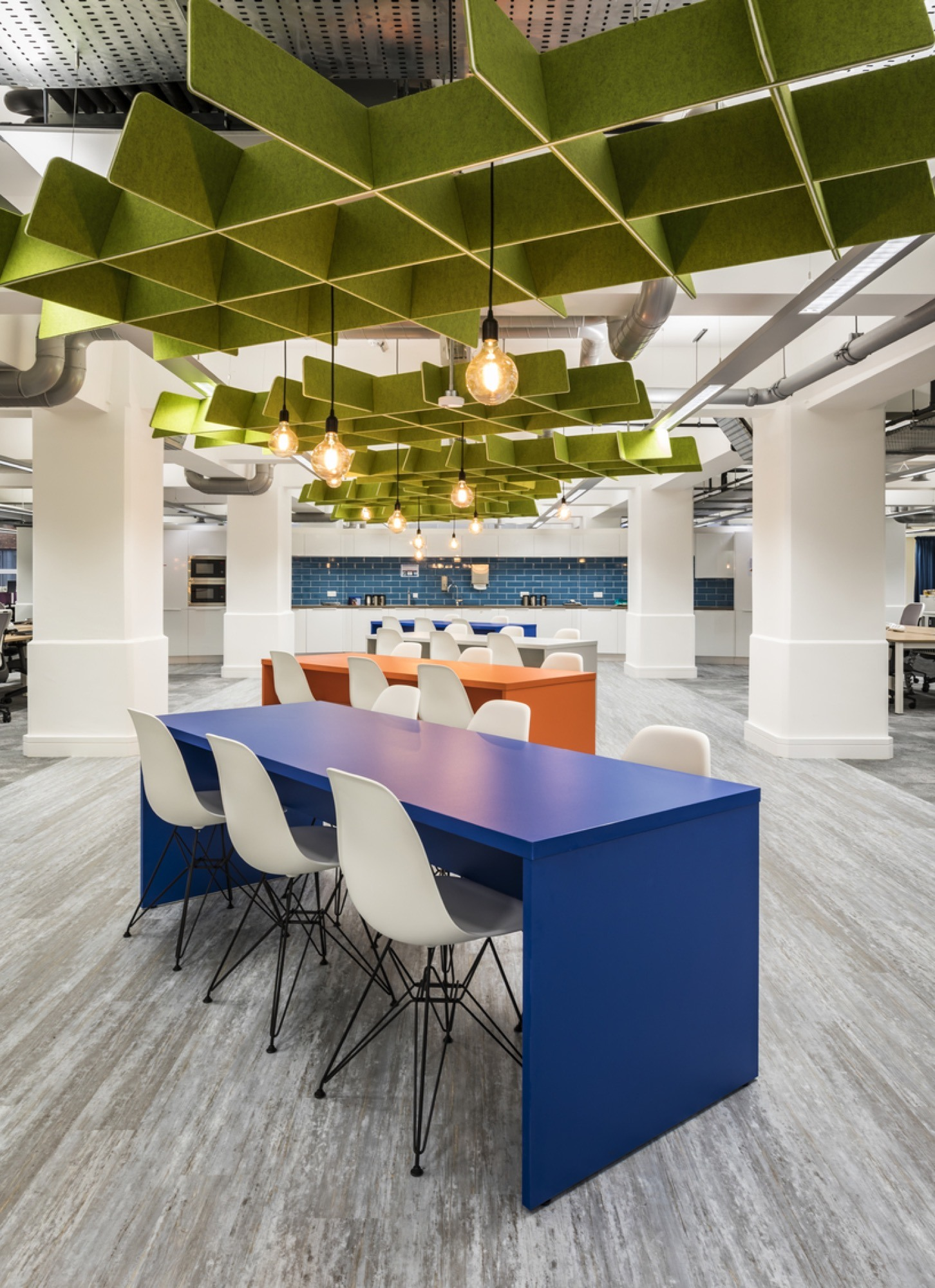 The Growth Company open plan office design