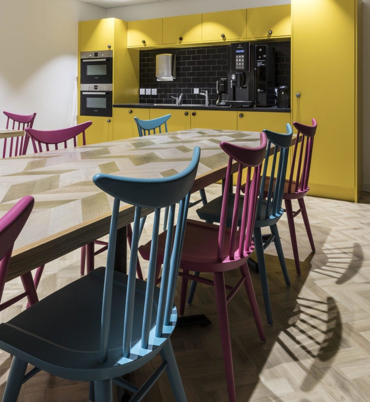 The Hut Group staff cafe fit out