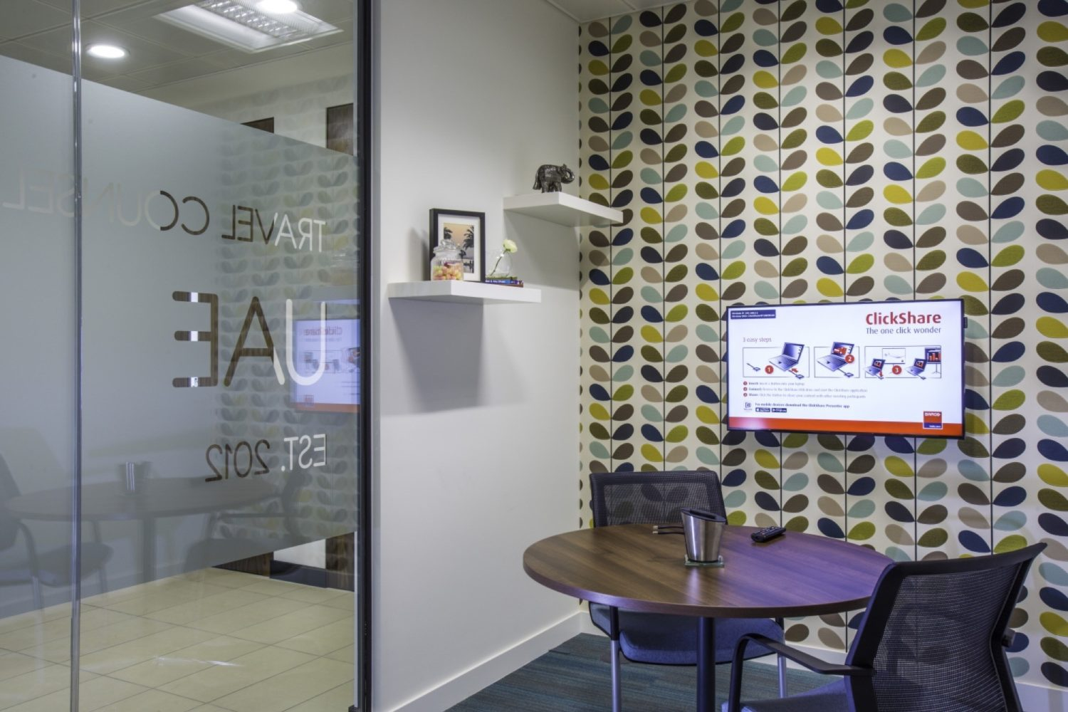 Travel Counsellors meeting space design