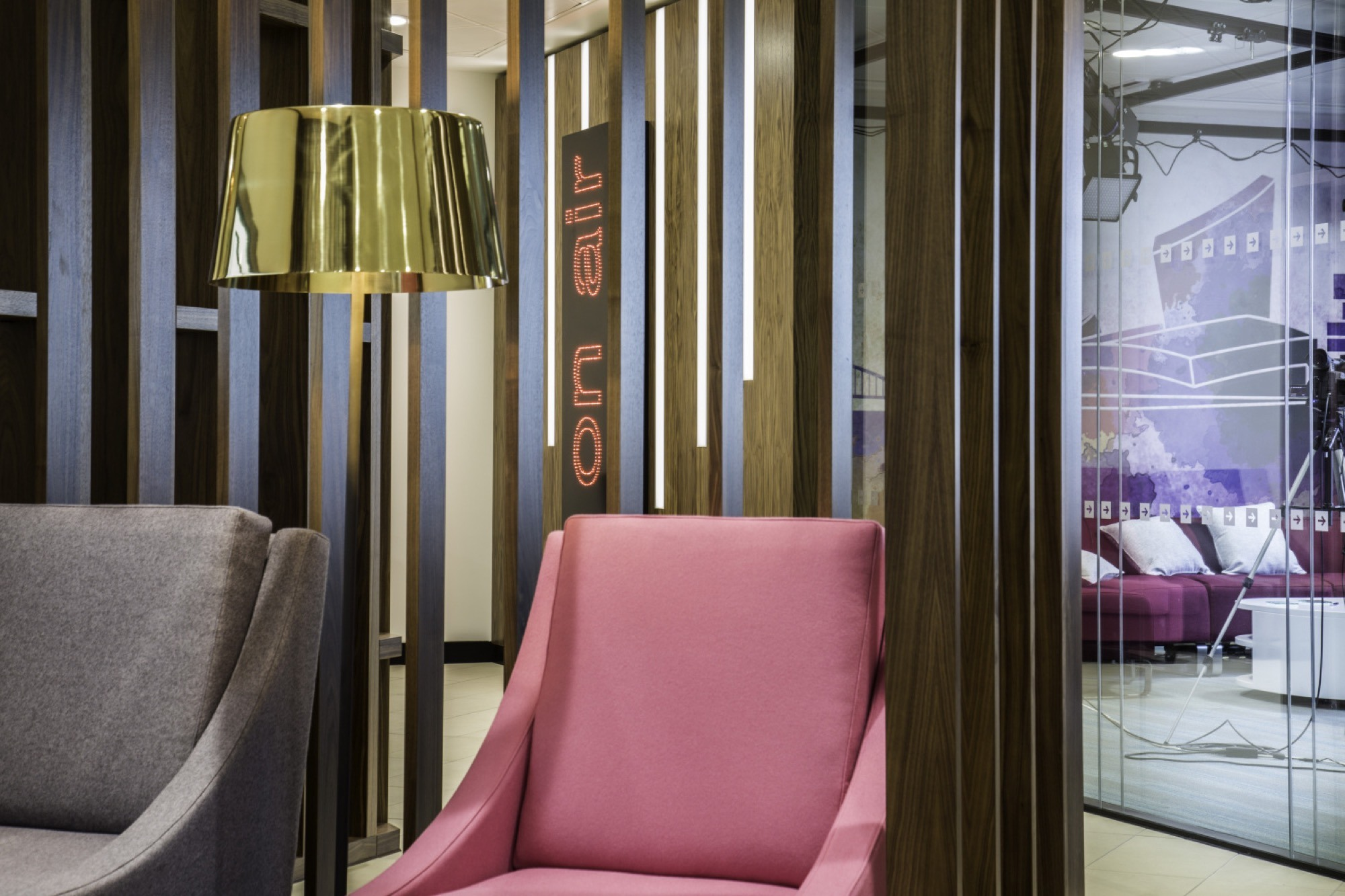 Travel Counsellors breakout area fit out