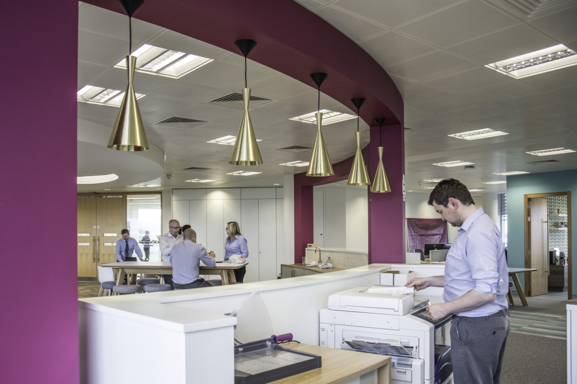 Travel Counsellors office communal area