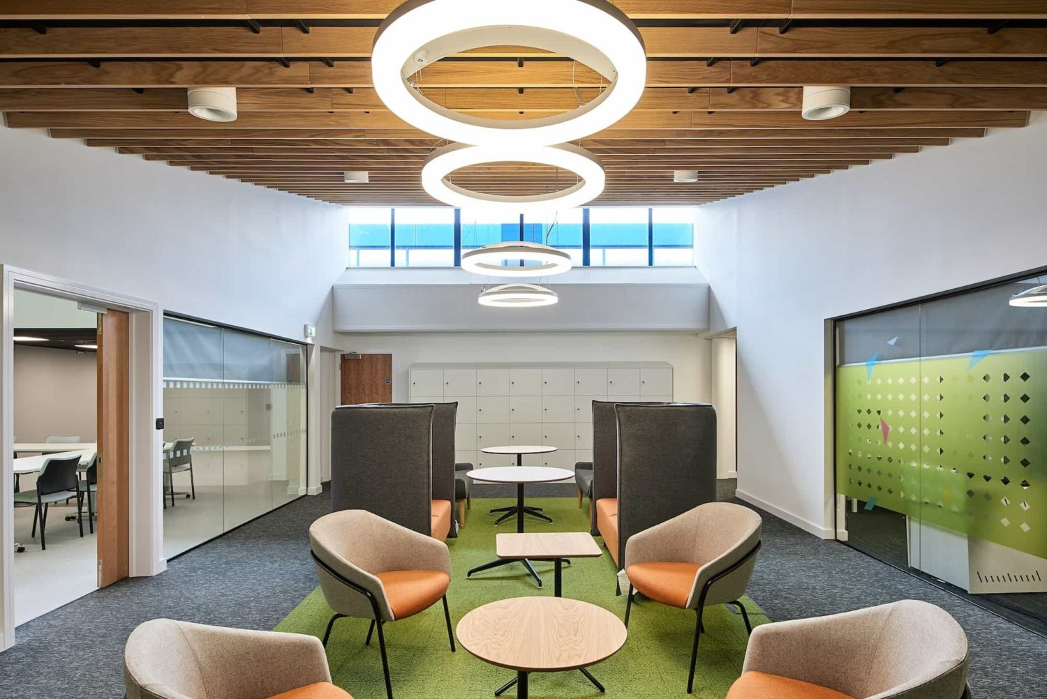 Student breakout space fit out
