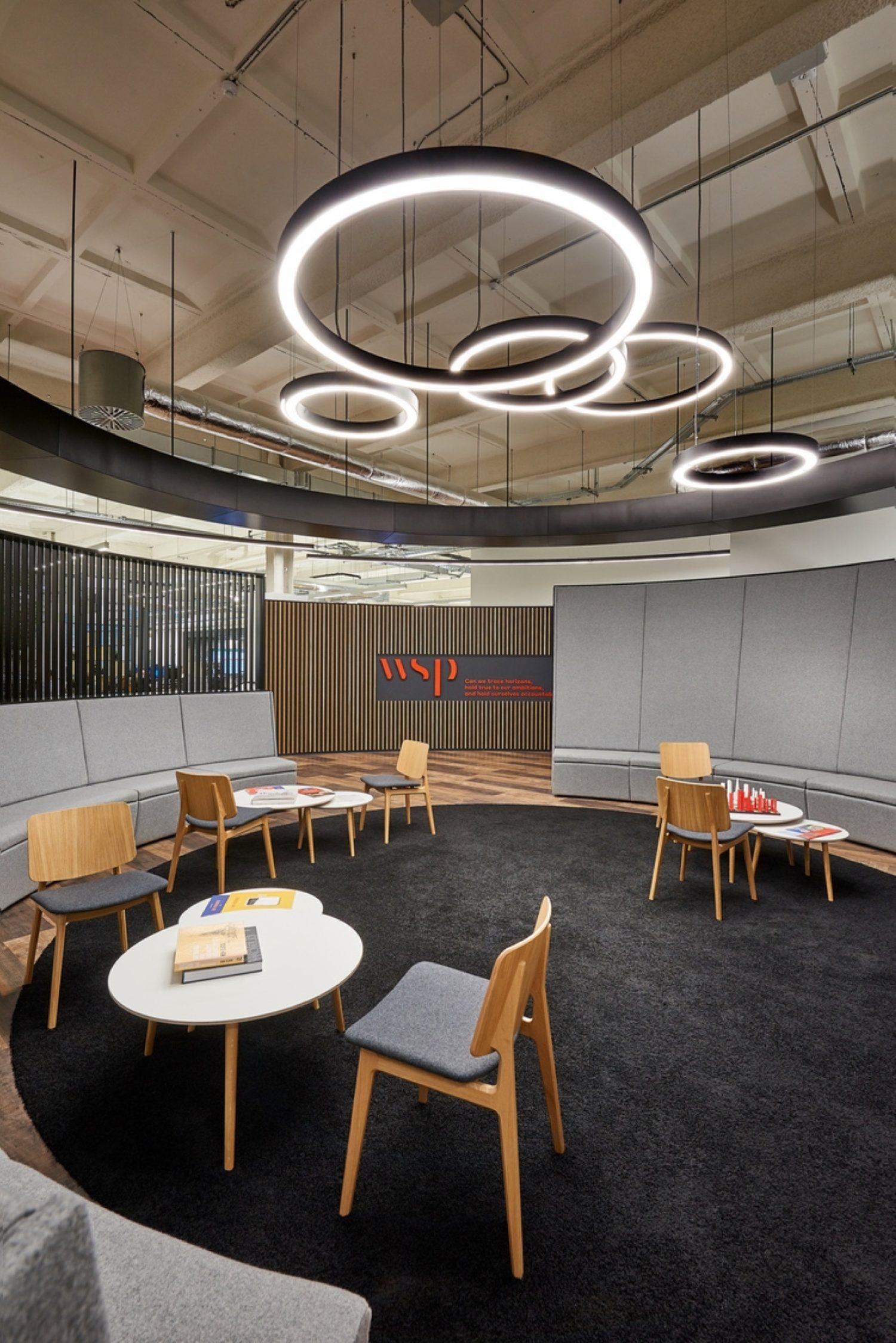 WSP breakout area for wellbeing
