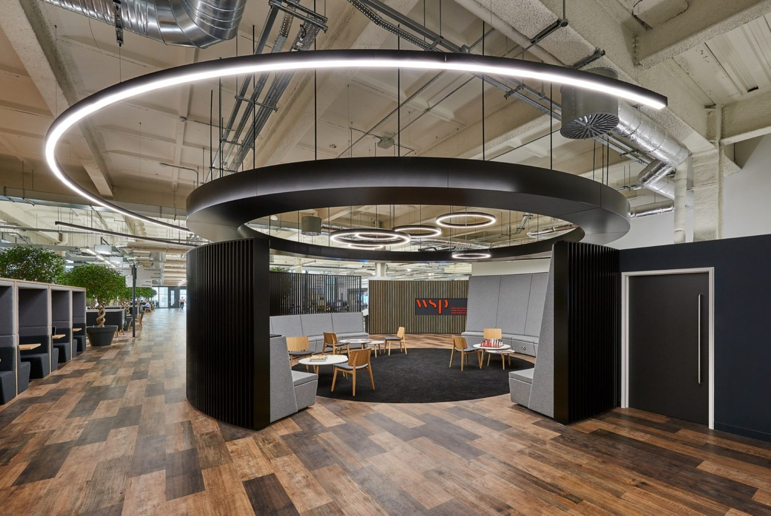 WSP breakout space fit out