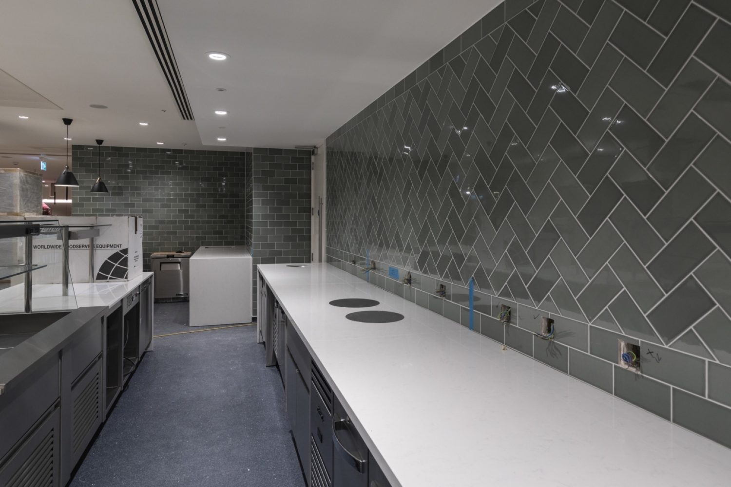 BCLP office kitchen fit out