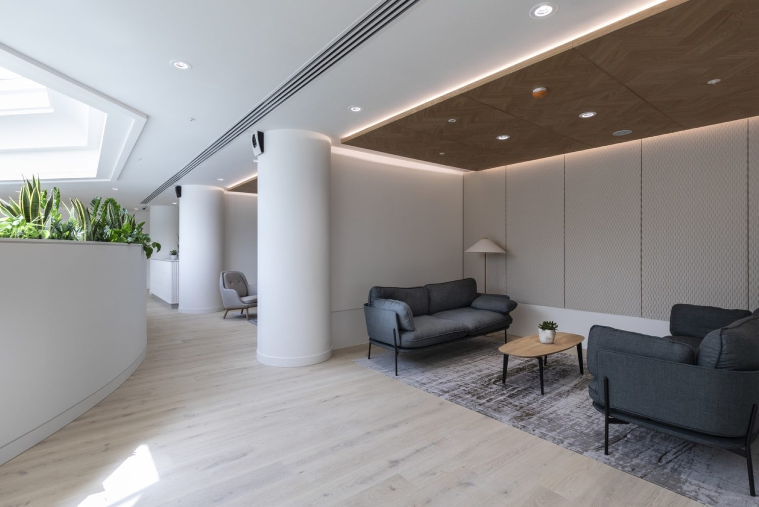 BCLP London fit out of breakout space