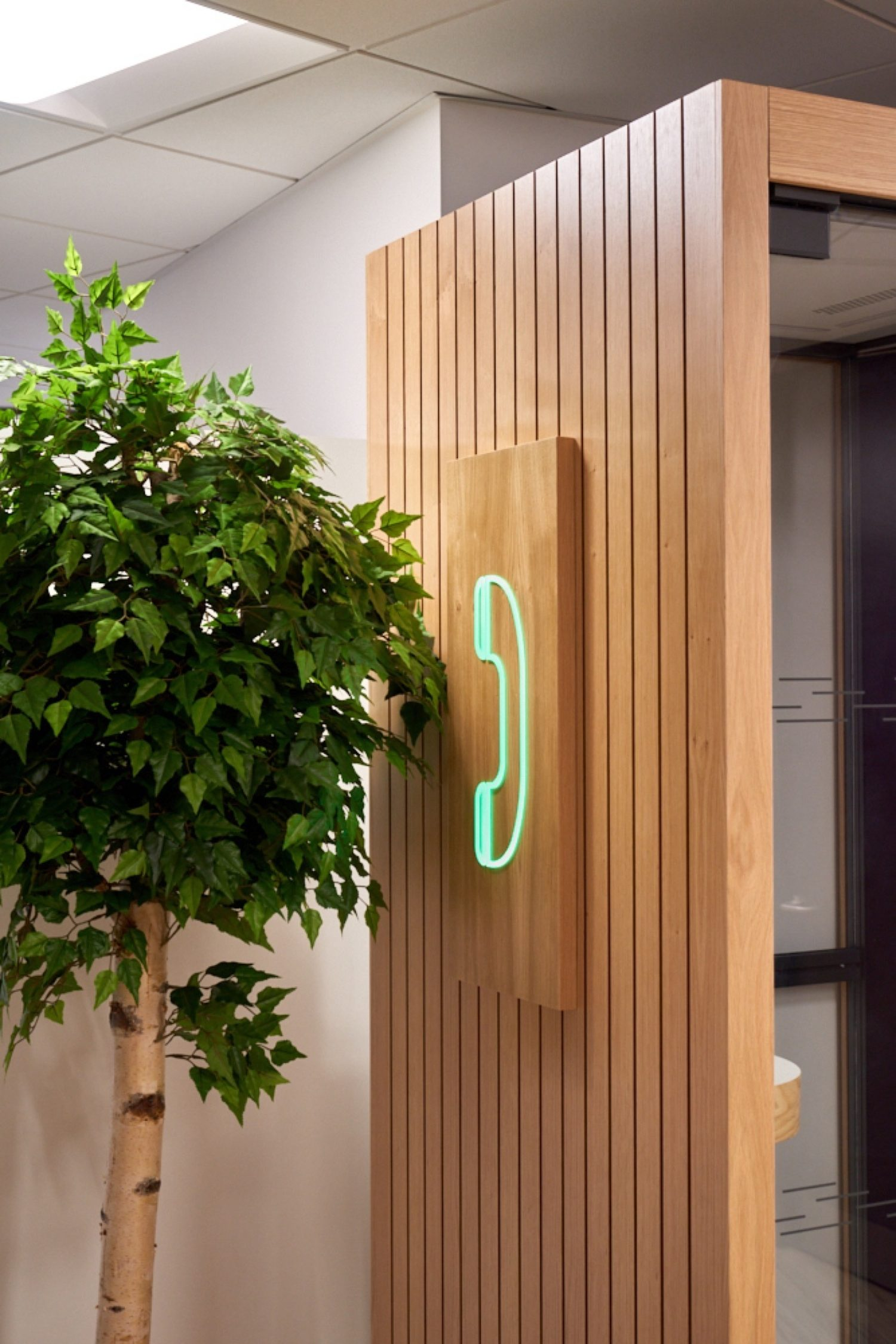Finastra office phone booth
