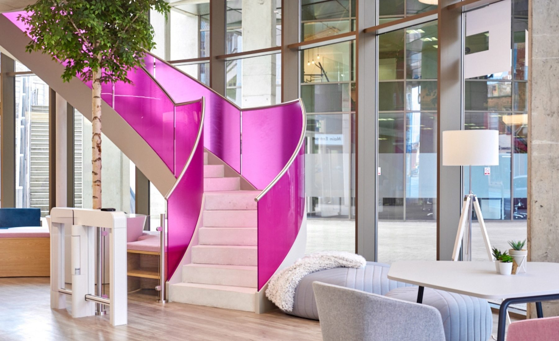 Finastra office design and build