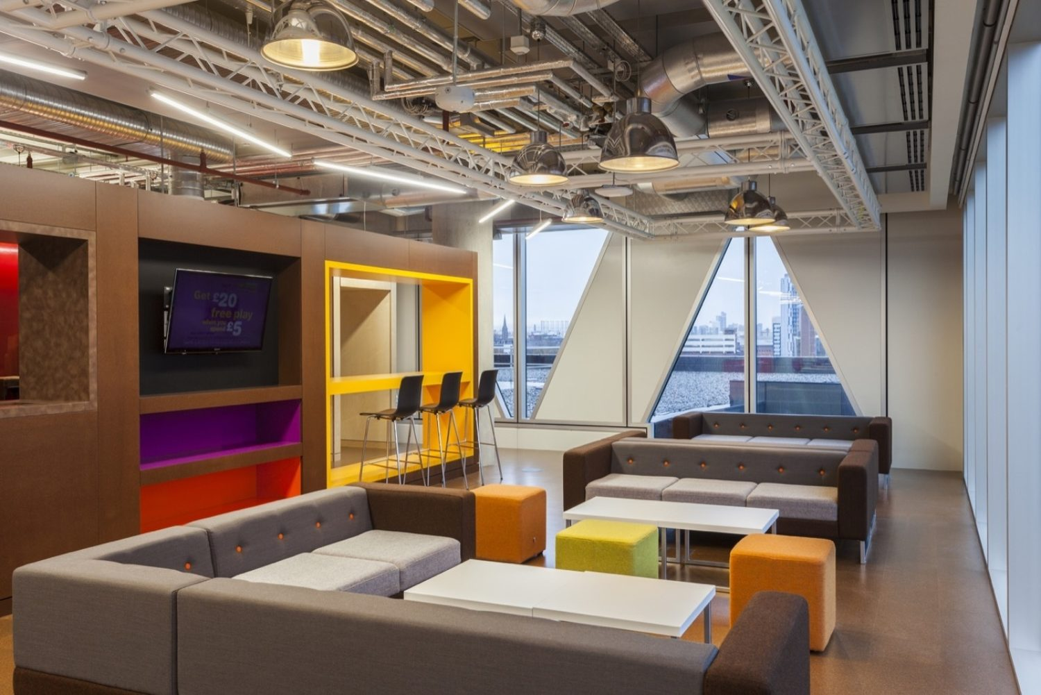 ITV breakout area fit out