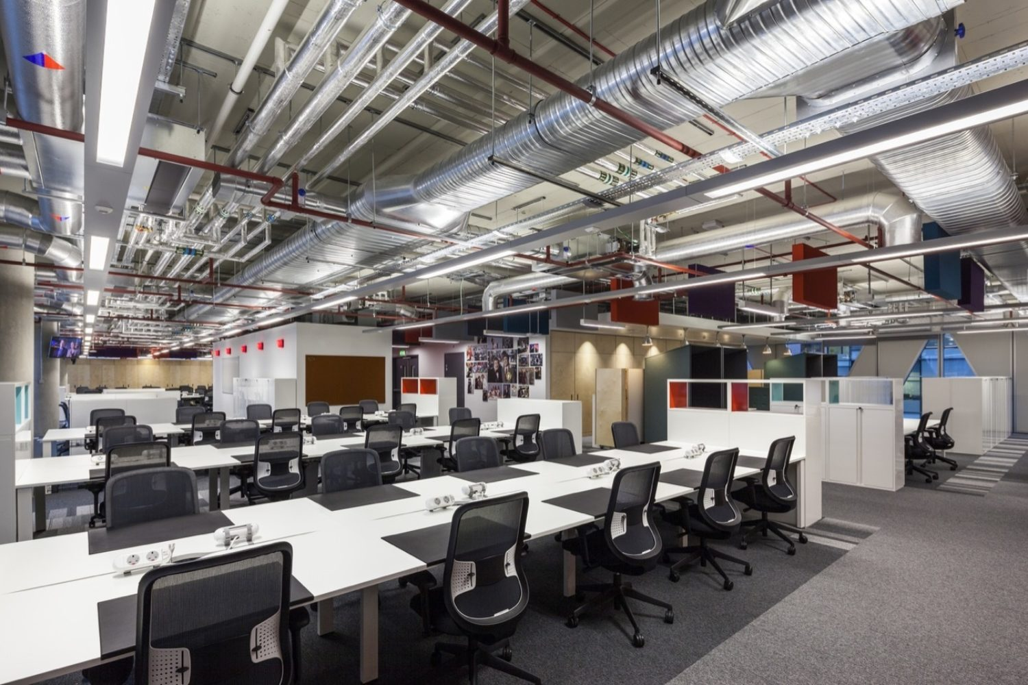 ITV open plan office fit out