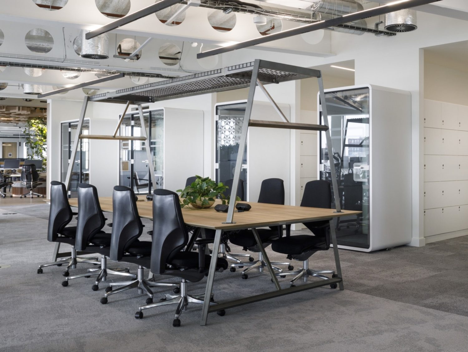 JLL Manchester office fit out for wellbeing