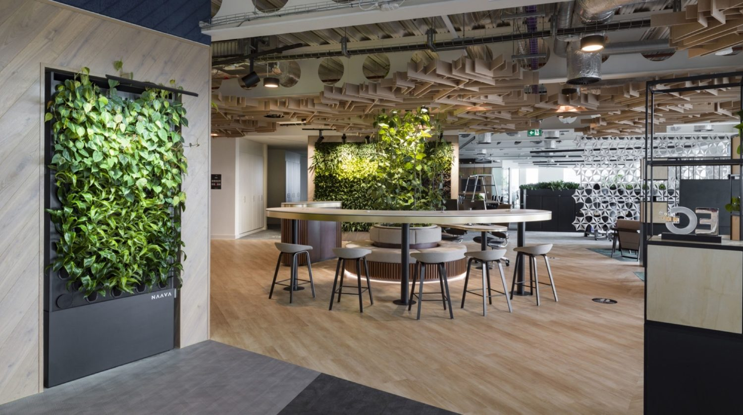 JLL biophilia manchester fit out