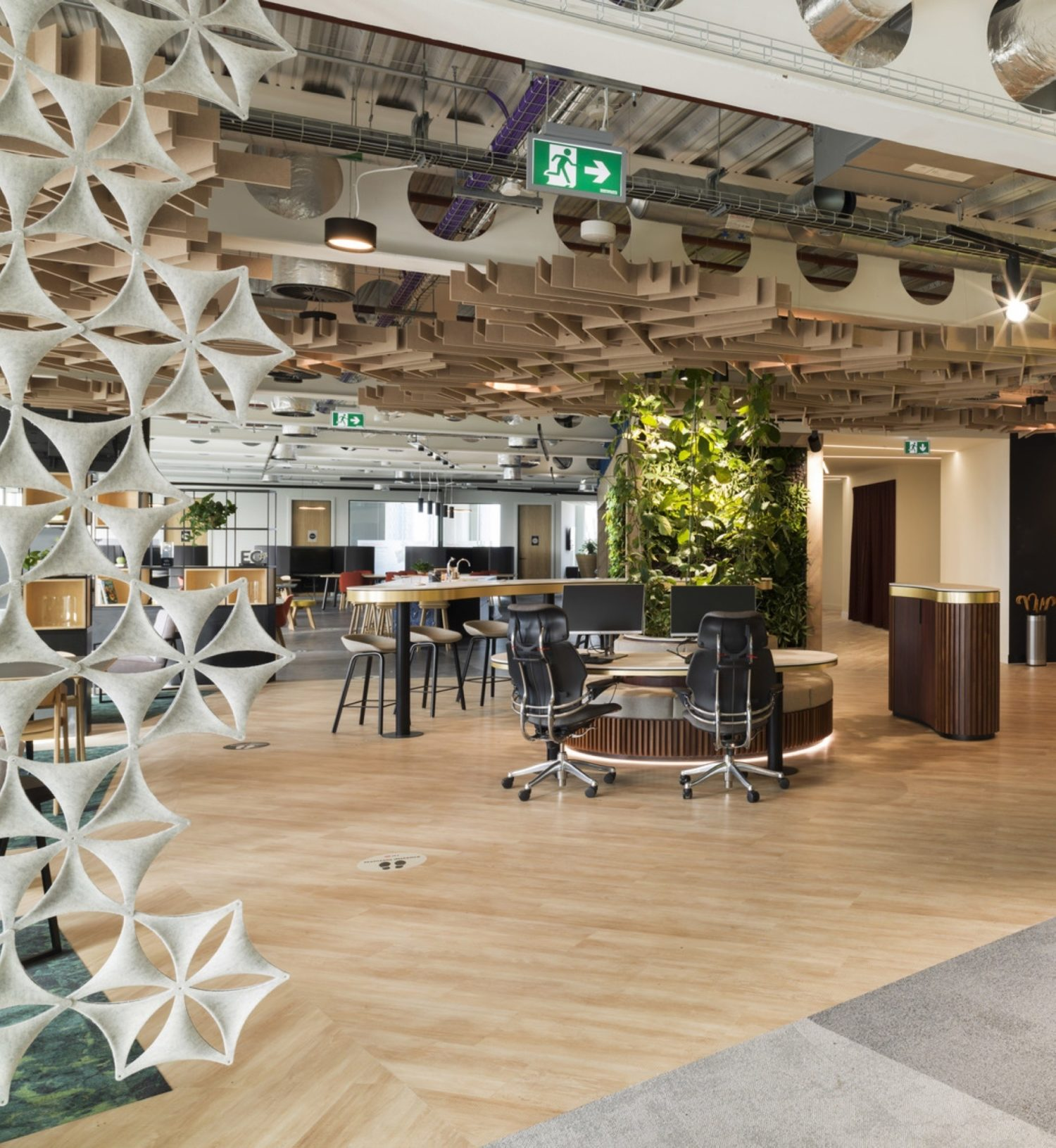 JLL office fit out Manchester