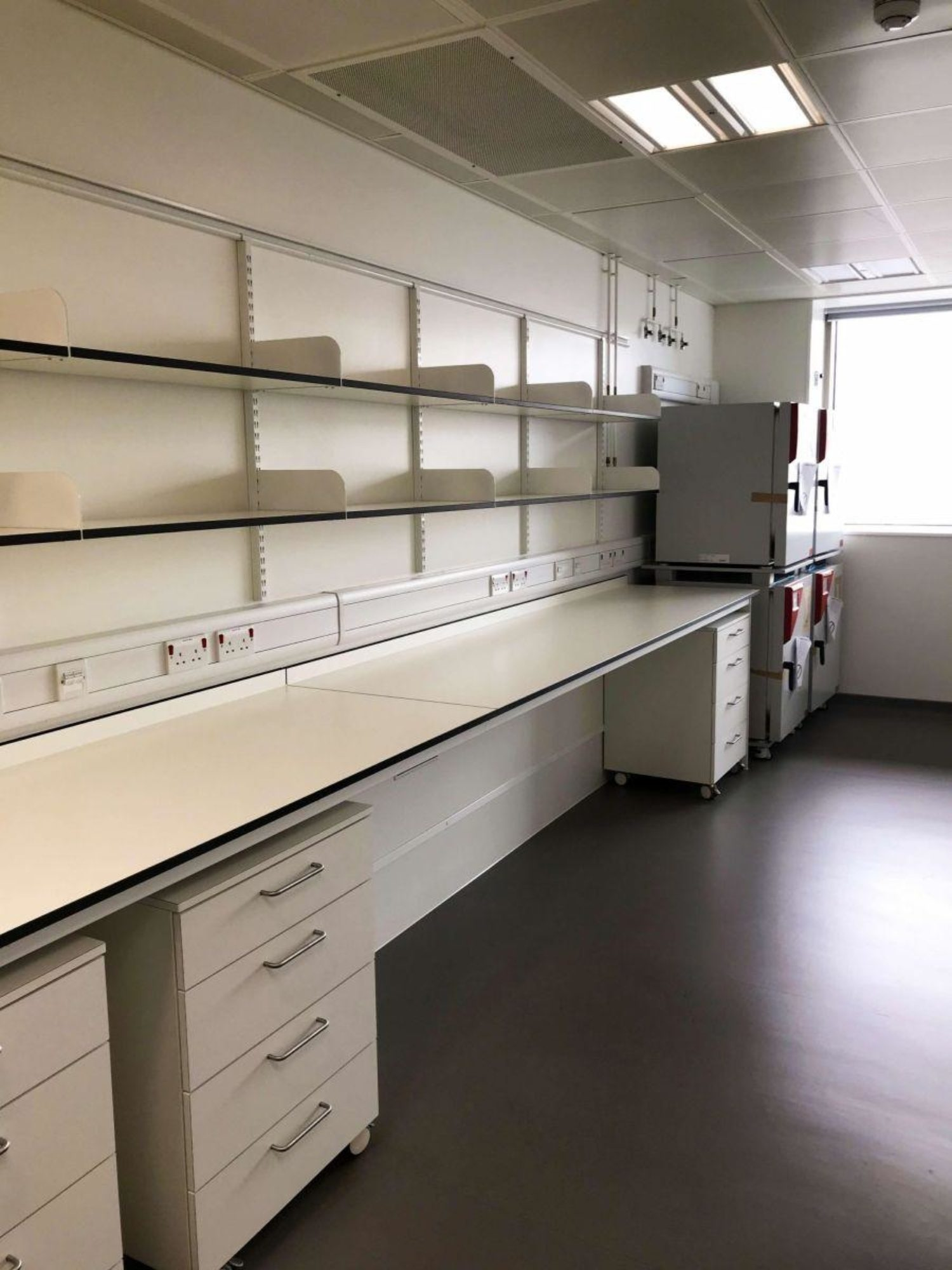 Kings College London lab refurbishment