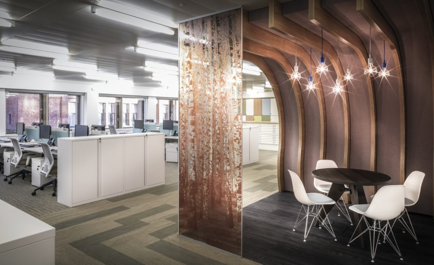 Network Rail Glasgow office fit out