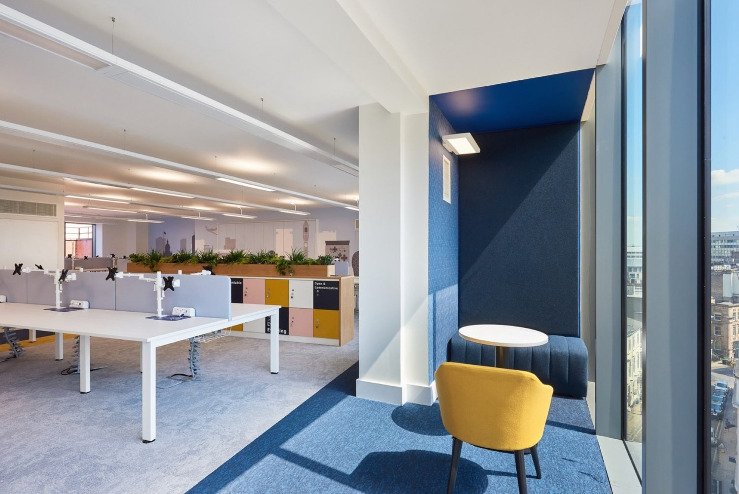 RLF open plan office fit out
