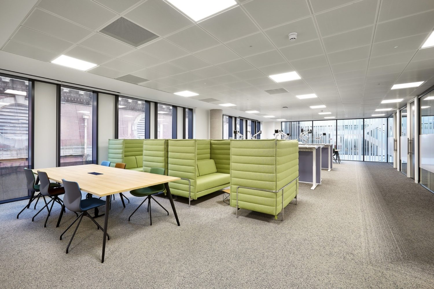 Simmons & Simmons open plan fit out