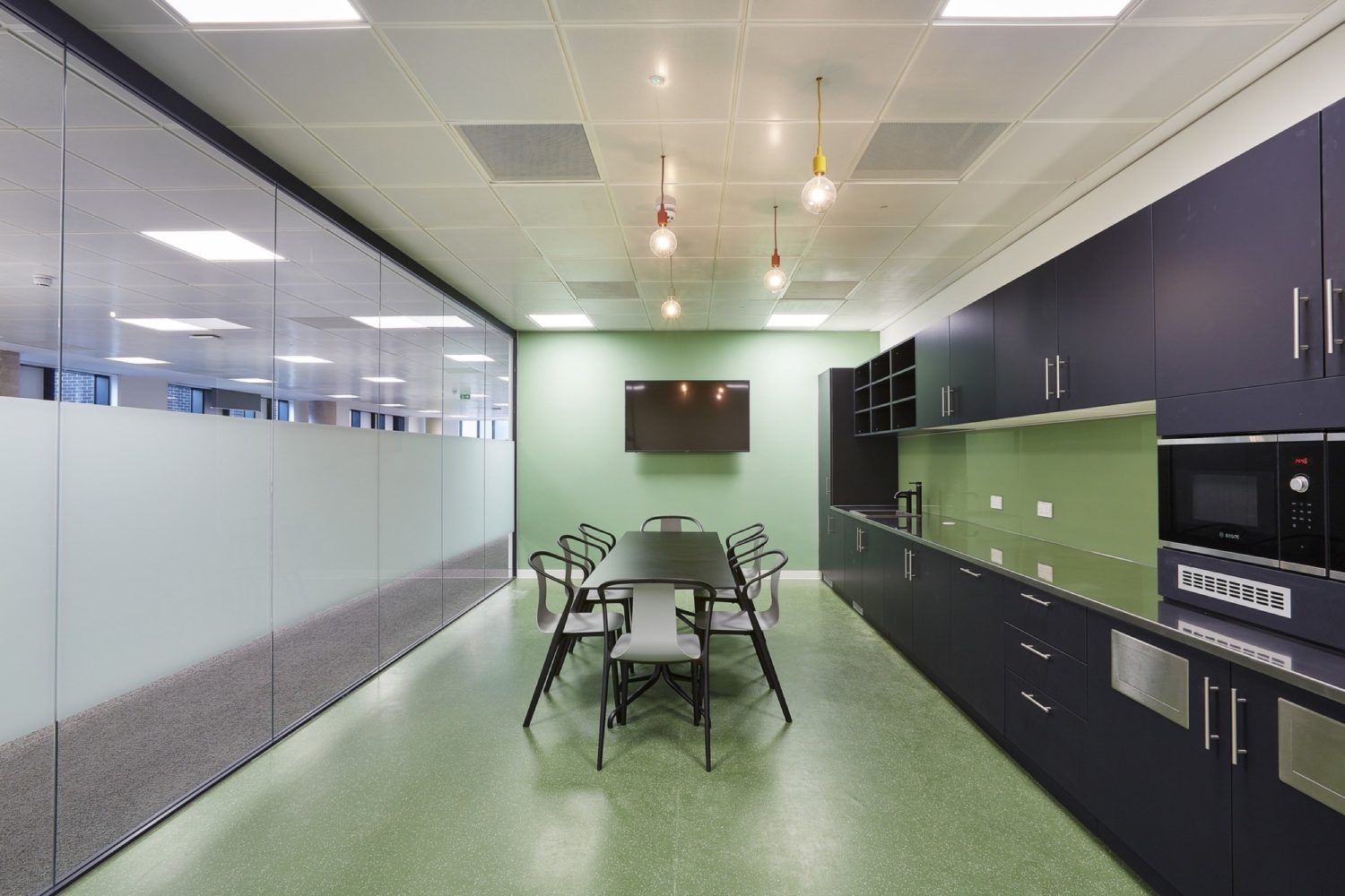 Simmons & Simmons office kitchen fit out